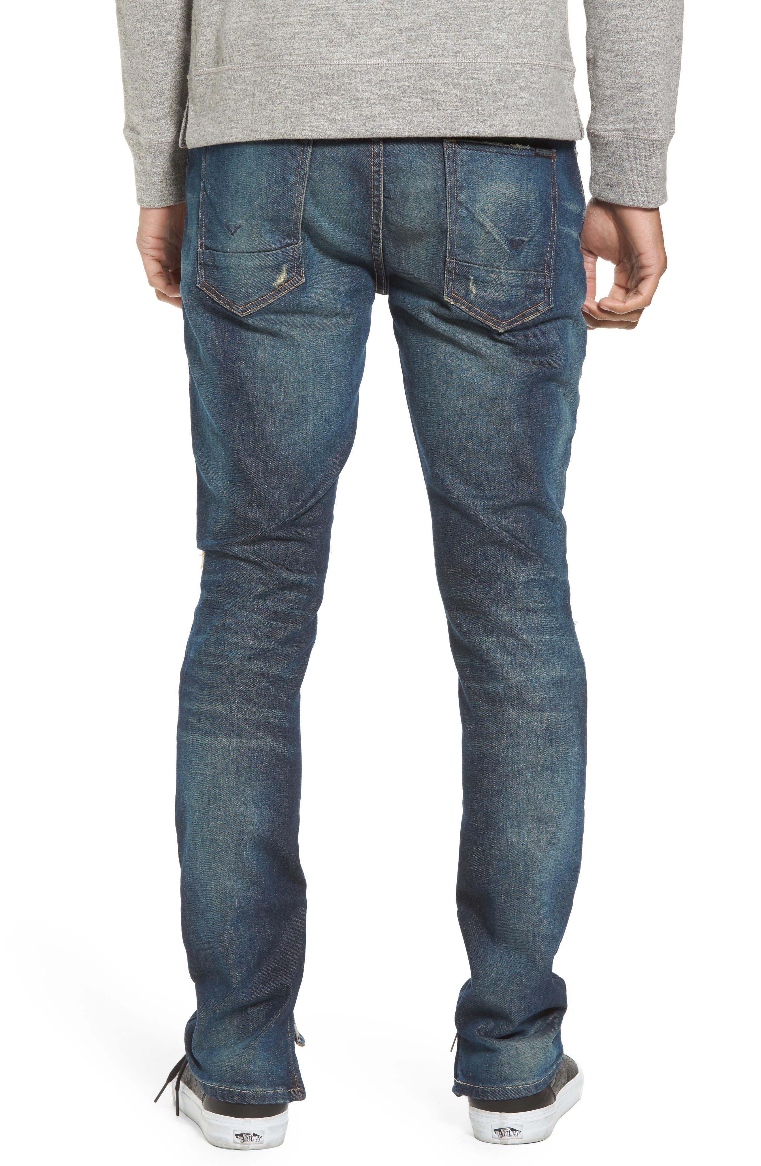Vaughn Skinny Fit Jeans,                             Alternate thumbnail 2, color,                             Slum