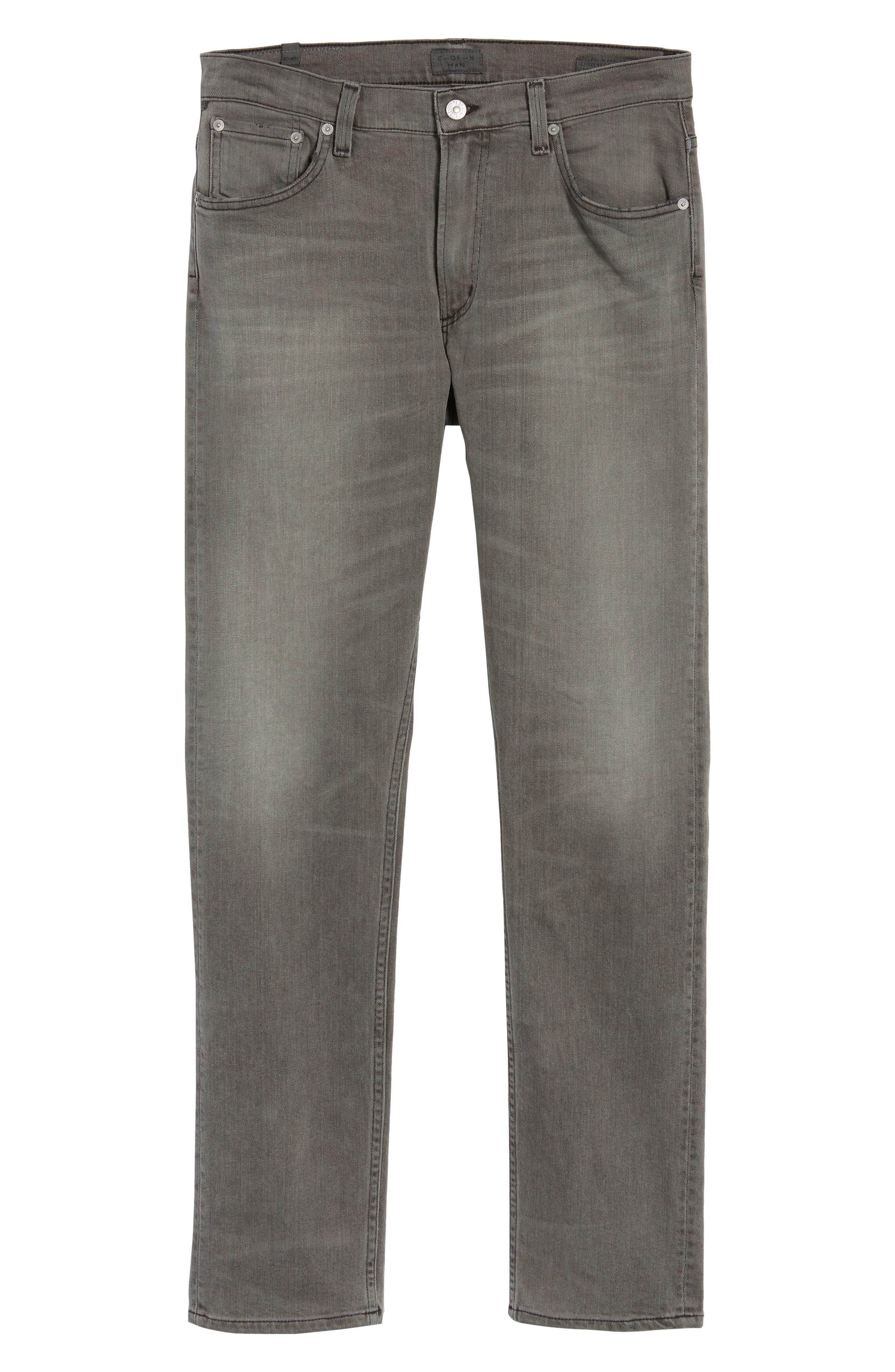 Bowery Slim Fit Jeans,                             Alternate thumbnail 6, color,                             Leon