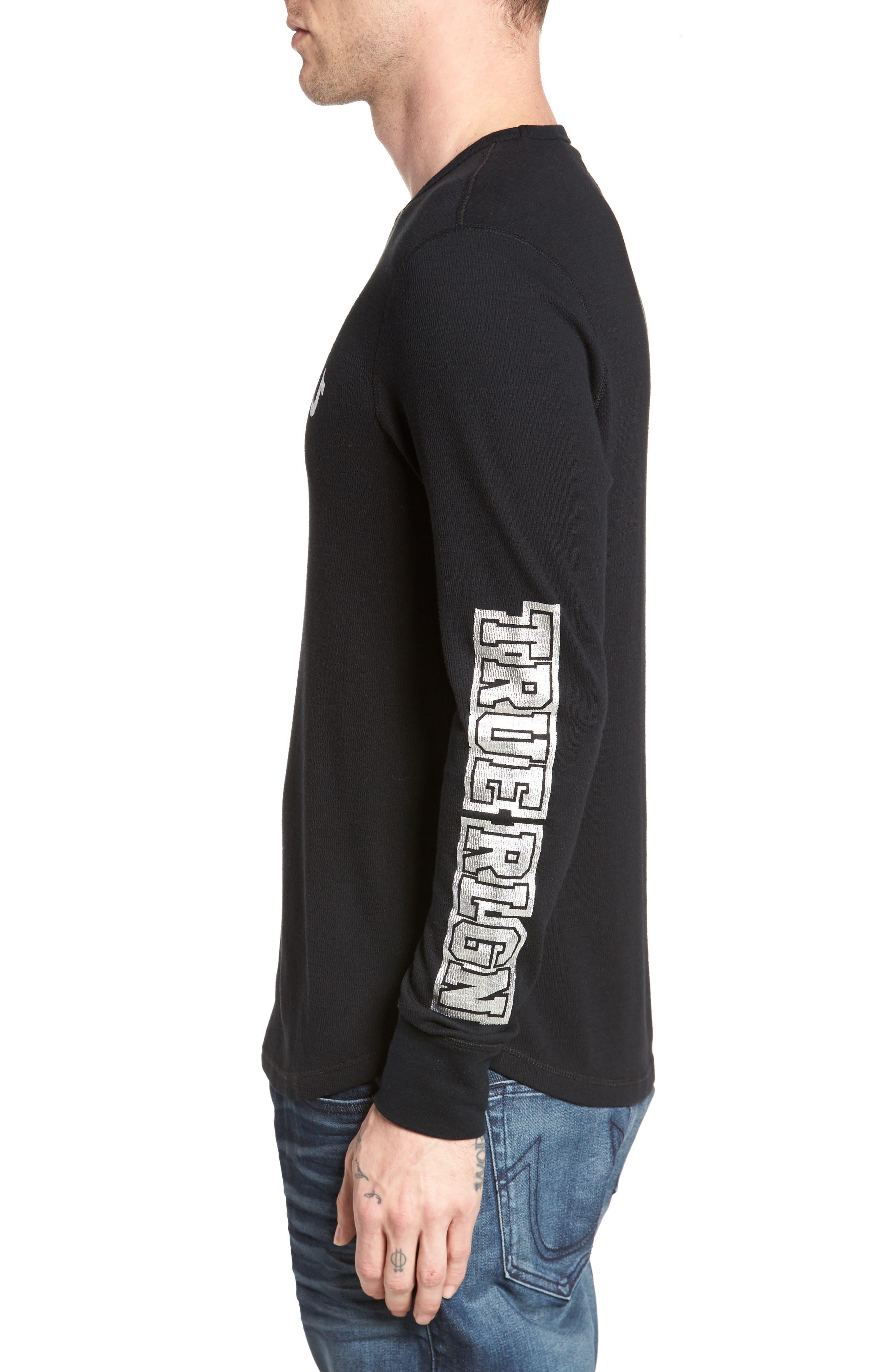 Alternate Image 3  - True Religion Brand Jeans Thermal T-Shirt