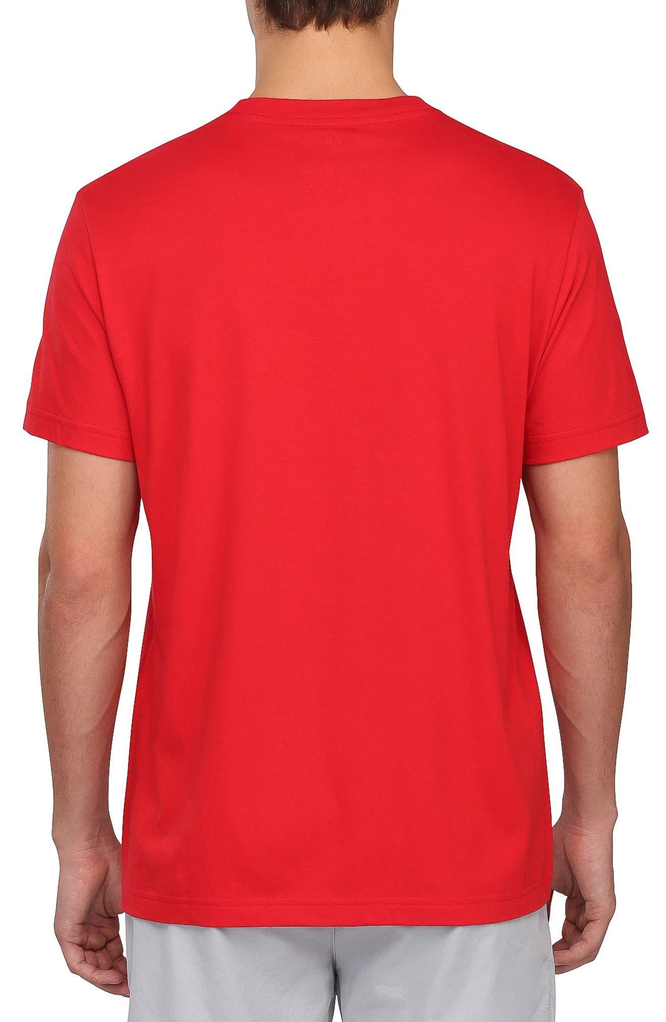 Legend Graphic T-Shirt,                             Alternate thumbnail 2, color,                             Brilliant Red