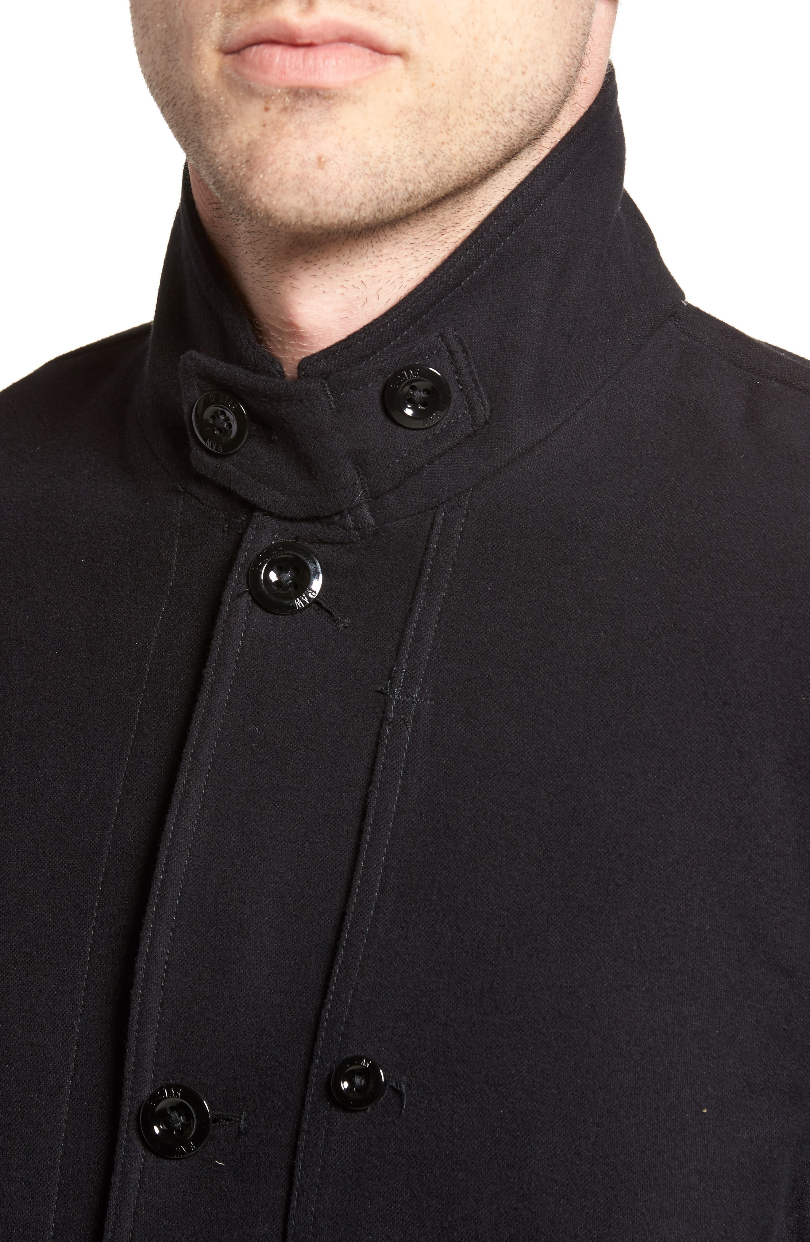 Bronson Worker Blazer,                             Alternate thumbnail 4, color,                             Black