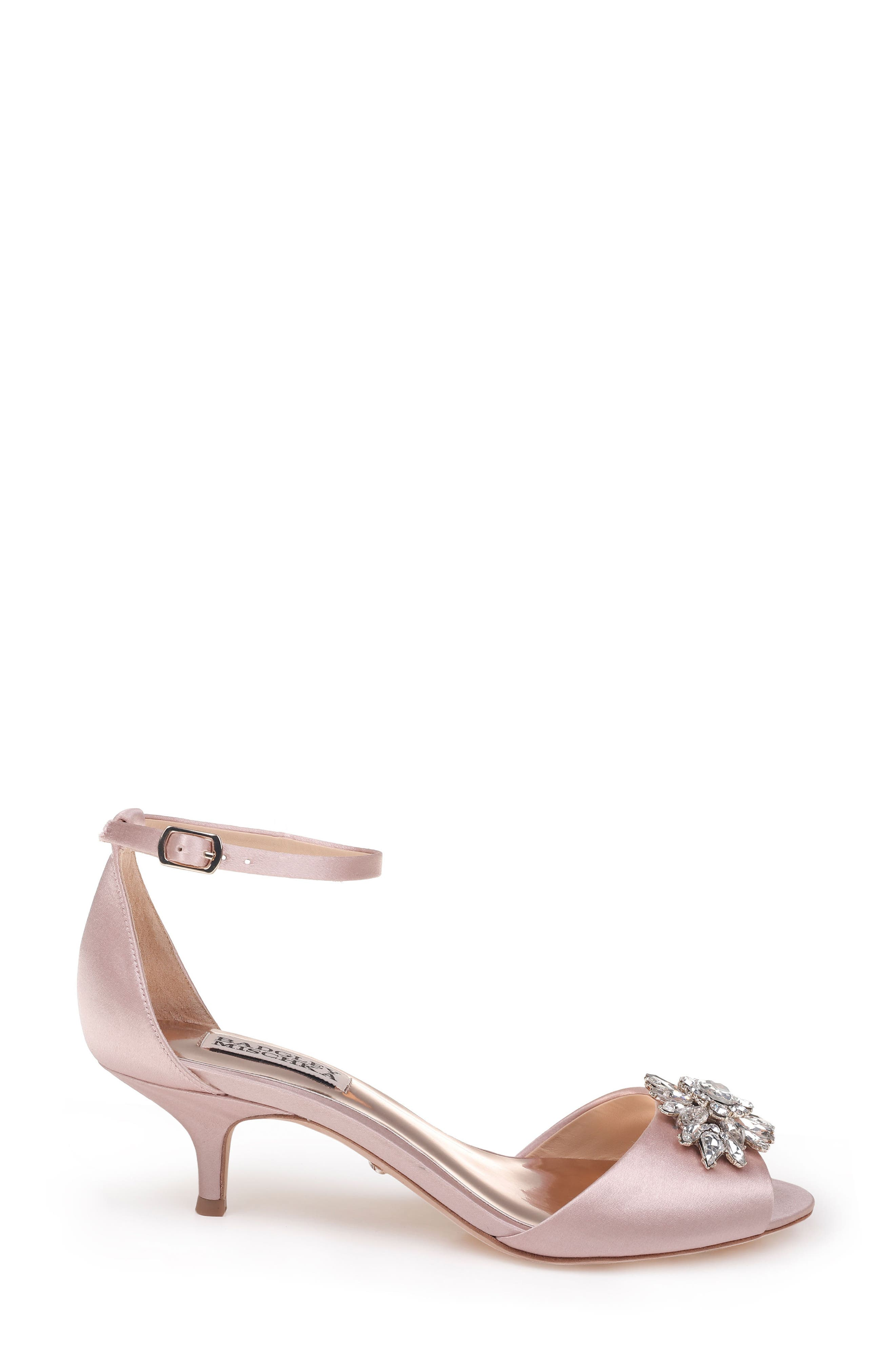 Alternate Image 3  - Badgley Mischka Sainte Crystal Embellished Sandal (Women)