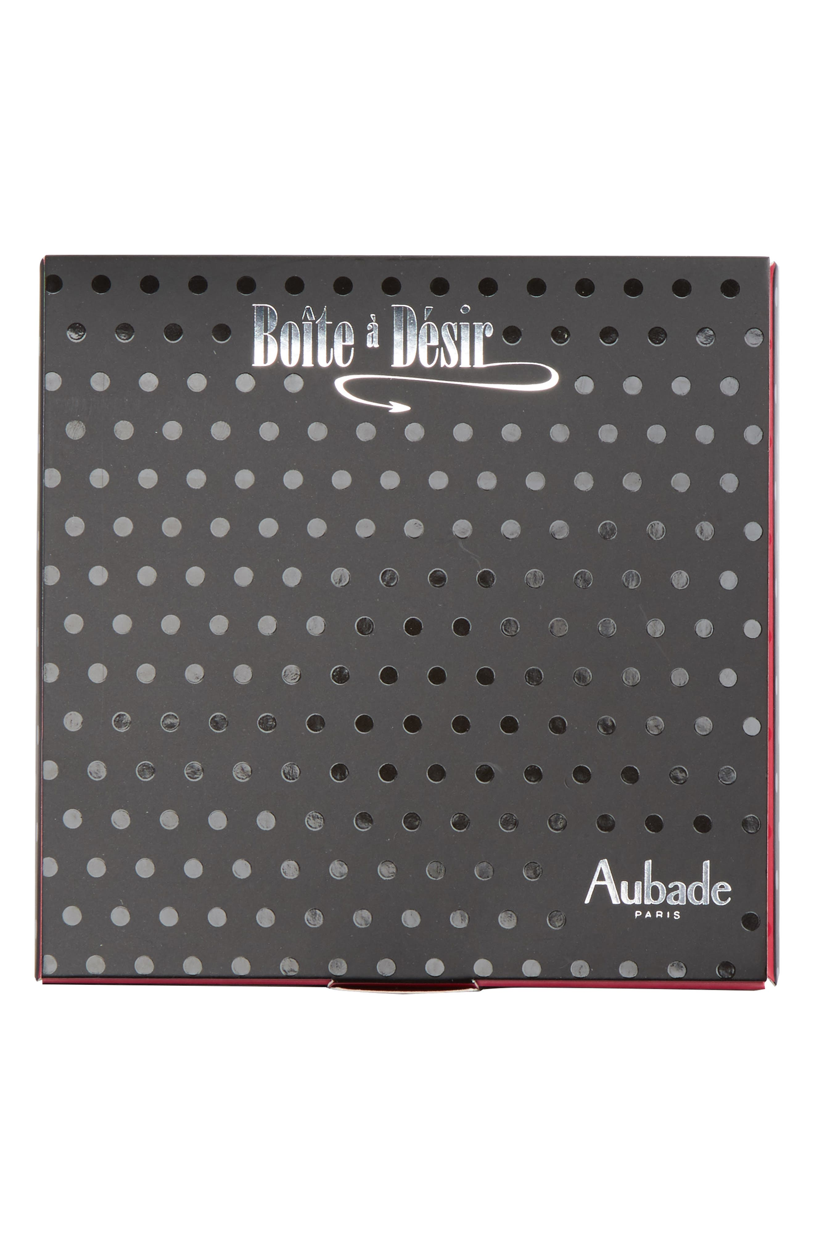 Alternate Image 5  - Aubade Boîte à Désir Slip Amour Piege Bikini