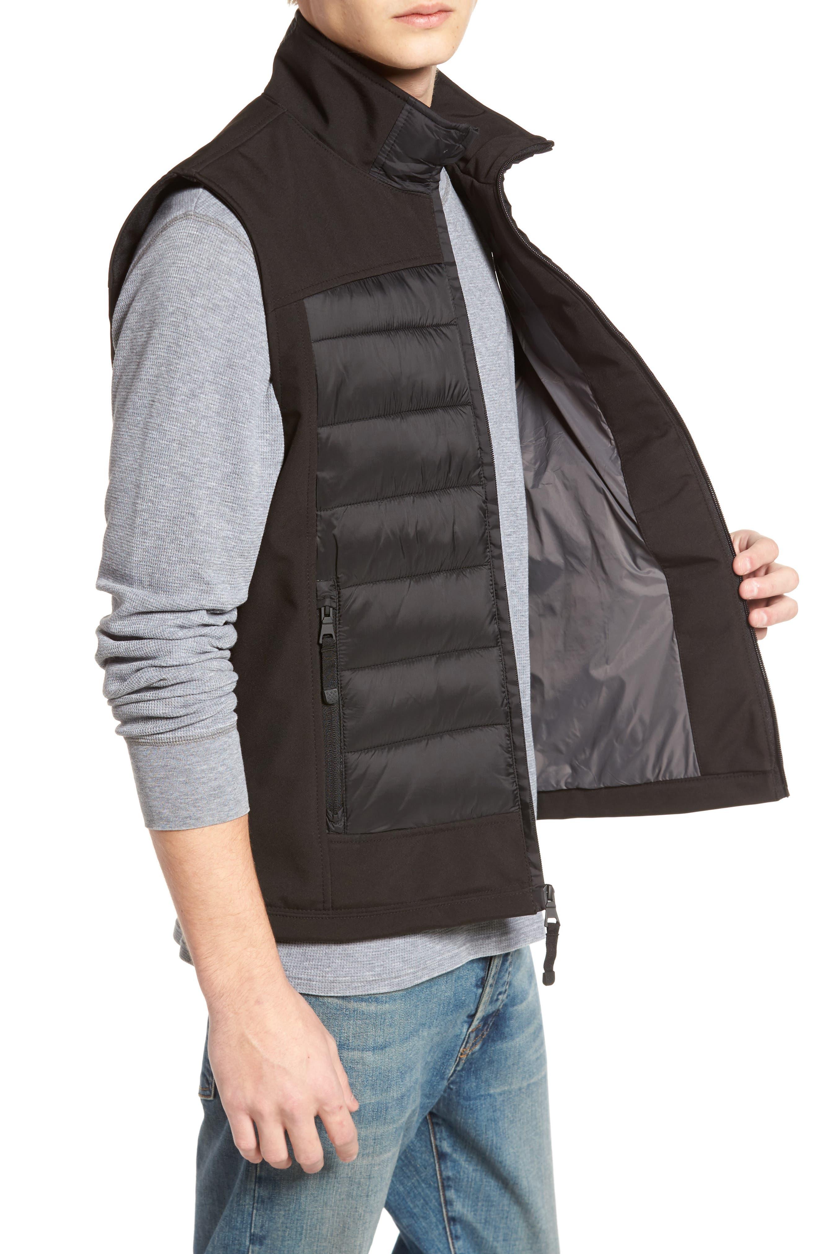 Alternate Image 3  - Black Rivet Quilted Vest