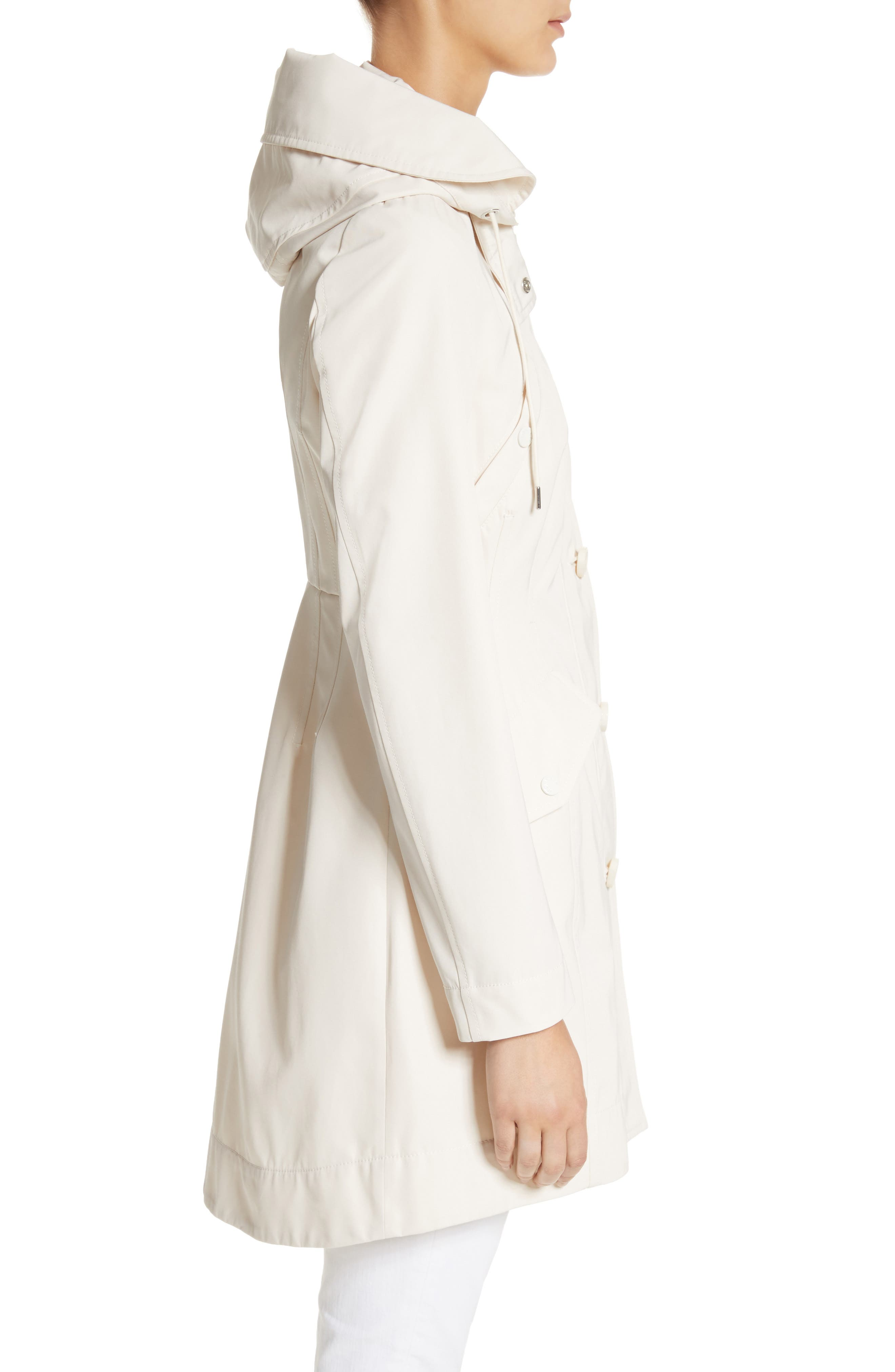 Alternate Image 3  - Moncler Audrey Water Resistant Hooded Raincoat