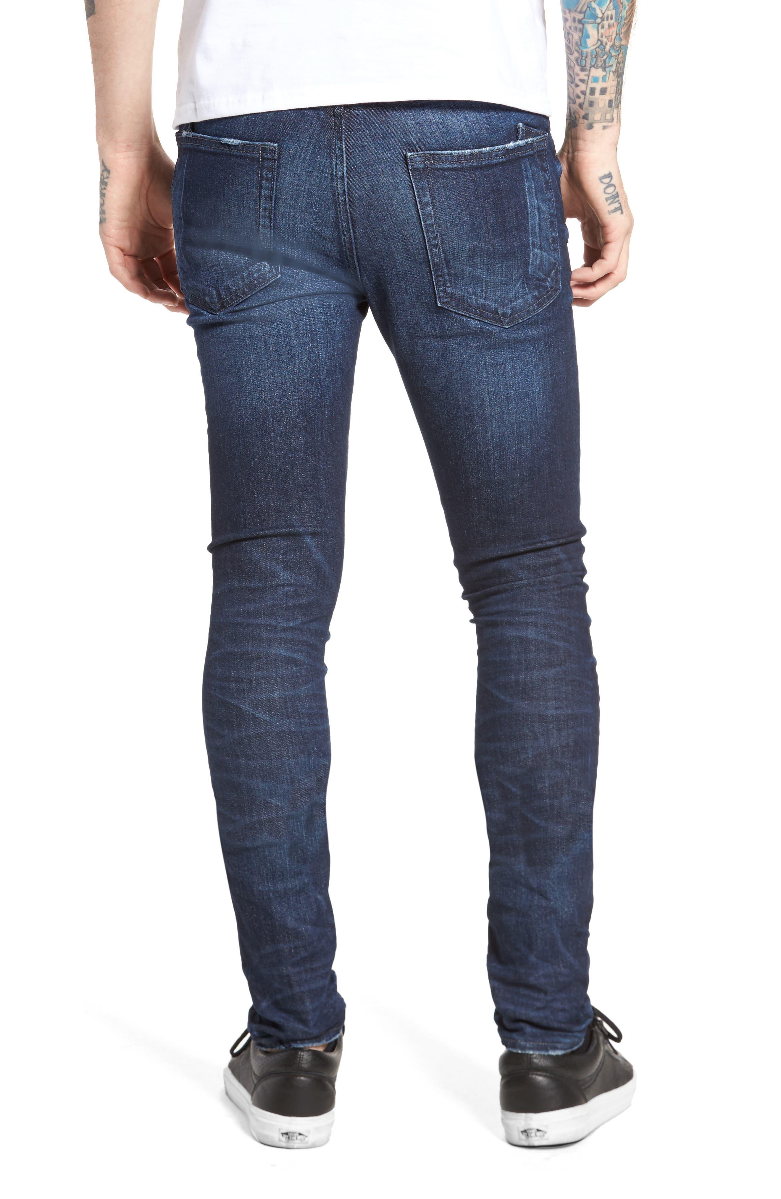 Windsor Slim Fit Jeans,                             Alternate thumbnail 2, color,                             Dark Blue