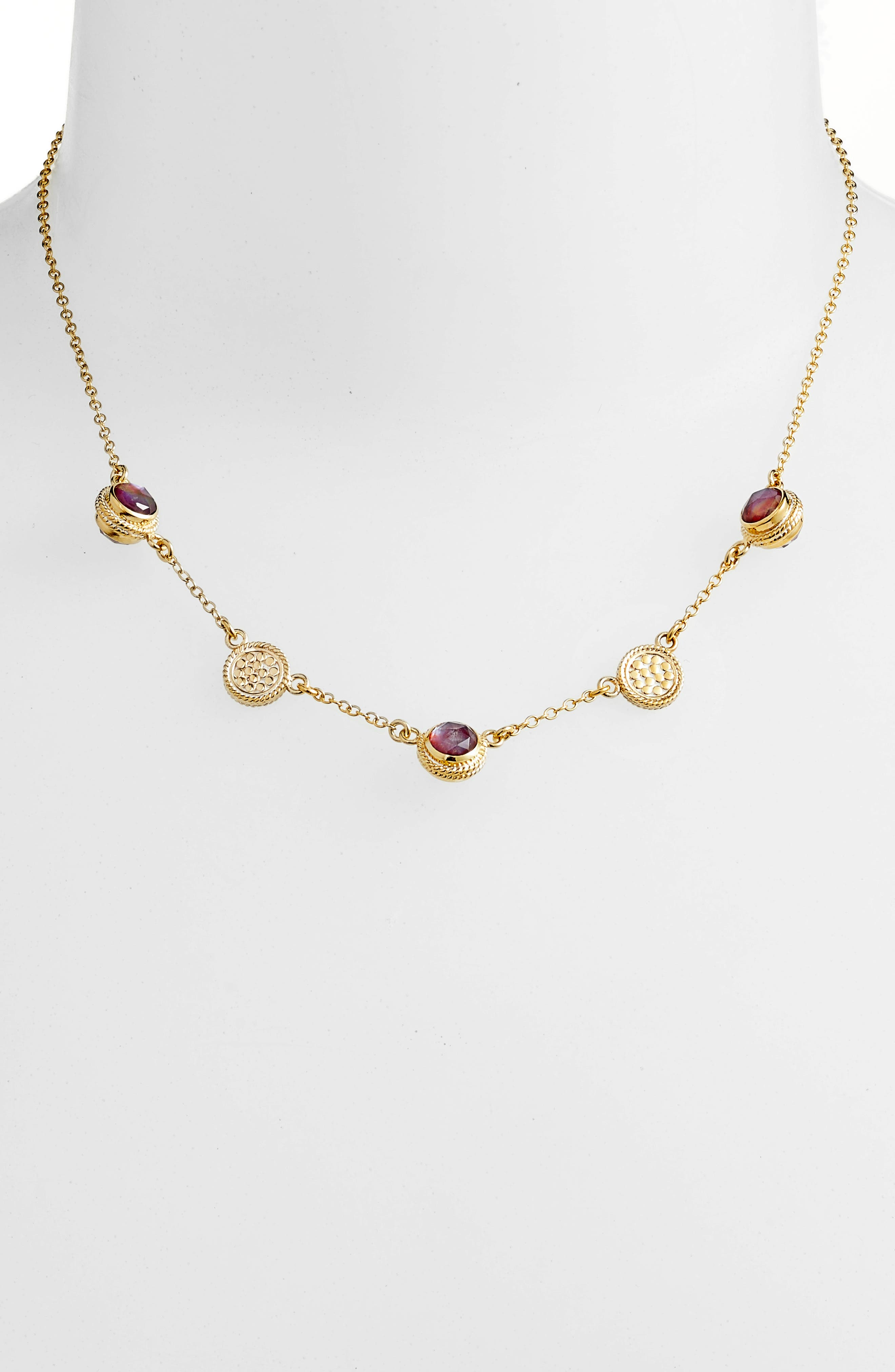 Main Image - Anna Beck Semiprecious Stone Station Necklace