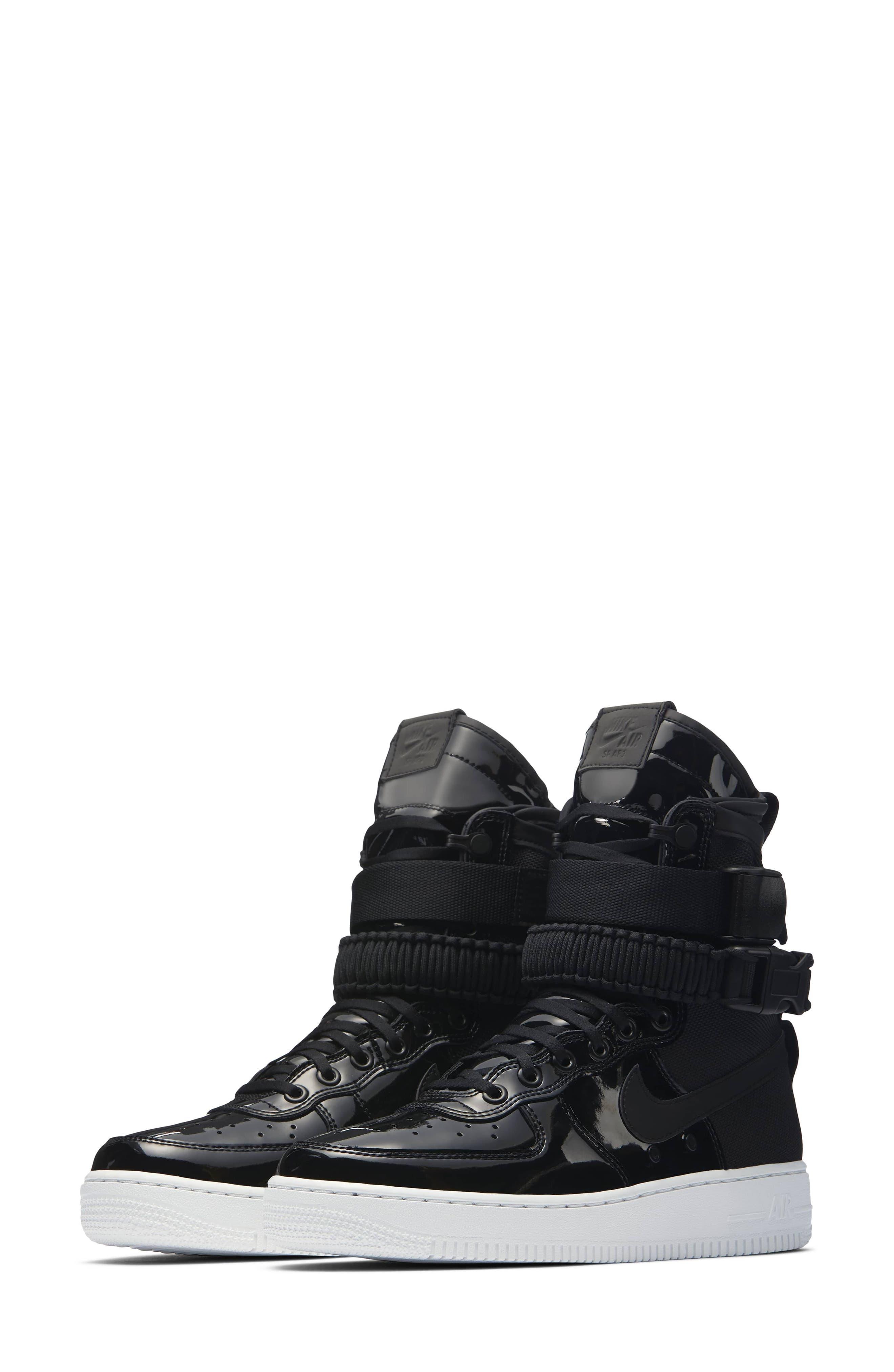 Alternate Image 1 Selected - Nike SF Air Force 1 High Top Sneaker (Women)