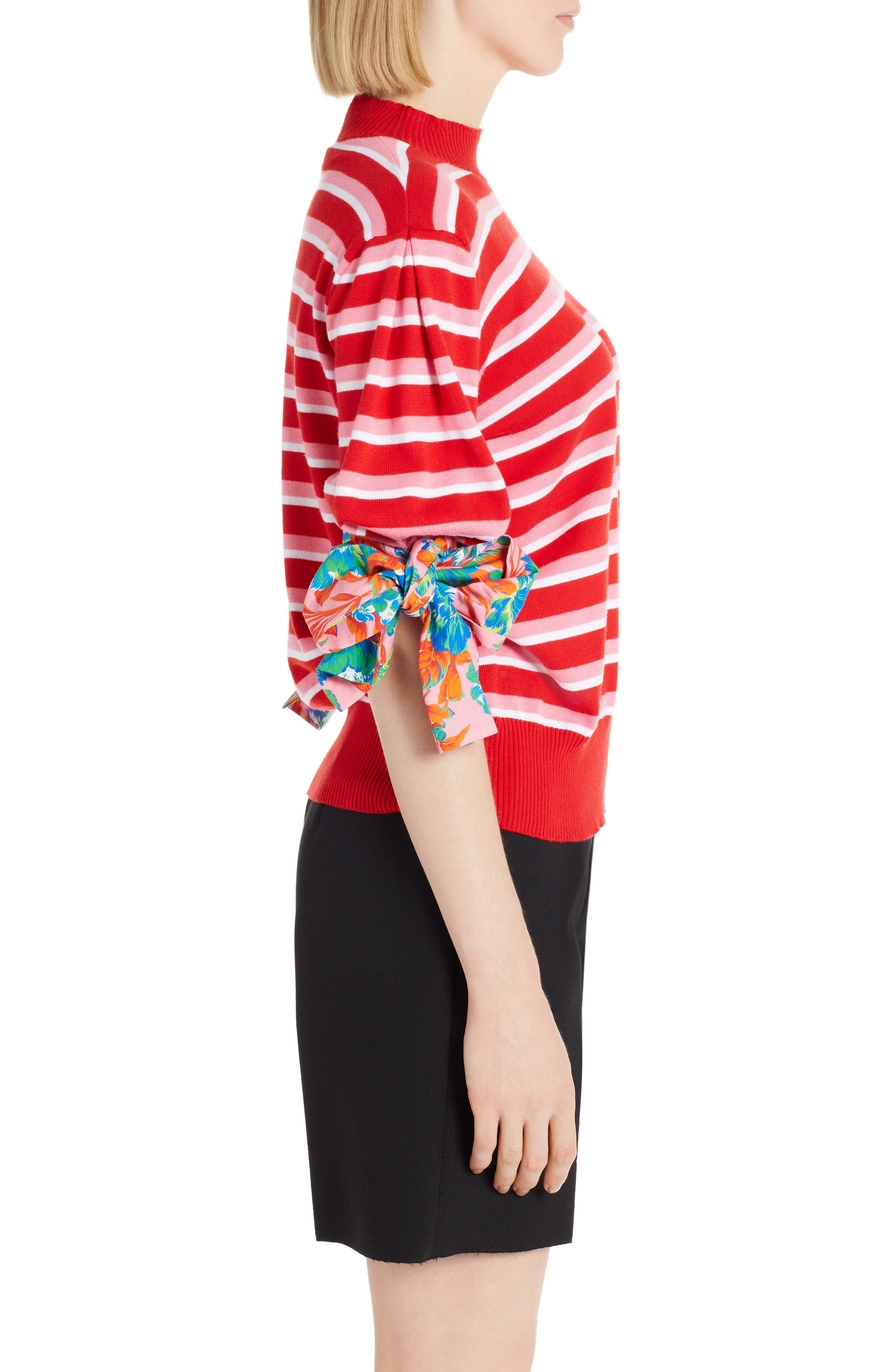 Alternate Image 3  - MSGM Tie Cuff Sweater