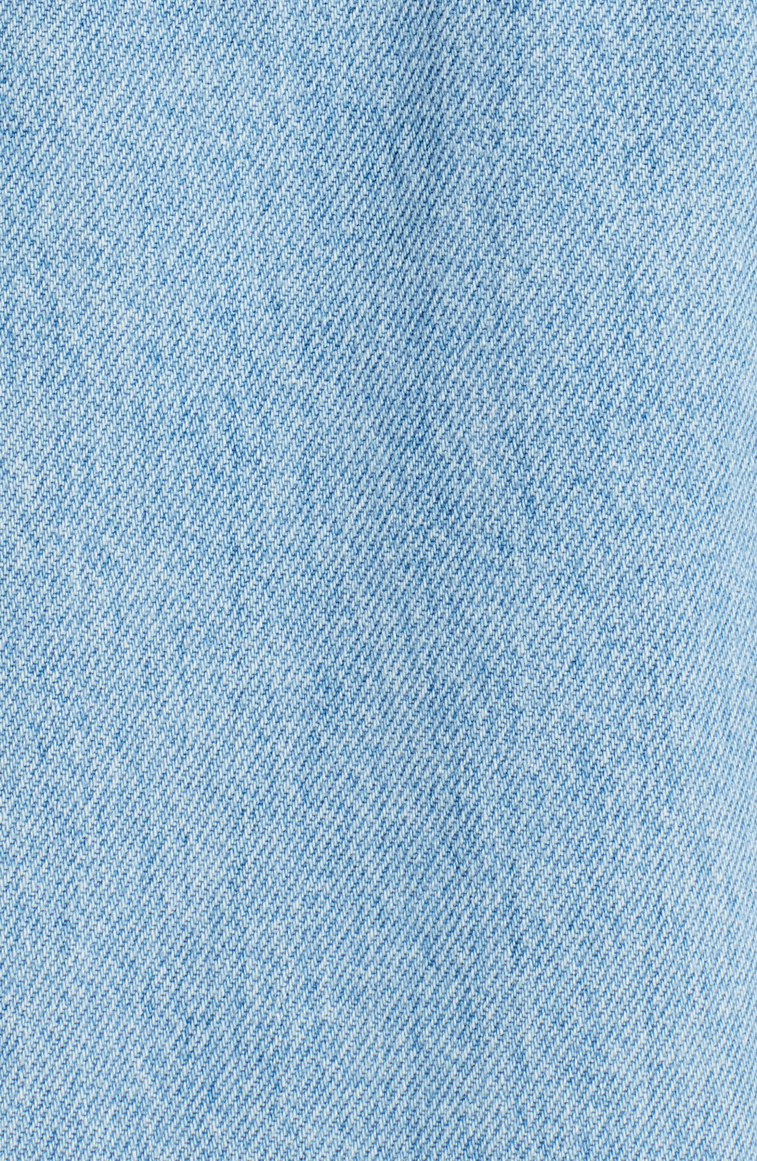 Alternate Image 4  - MSGM Zip Front Denim Jacket