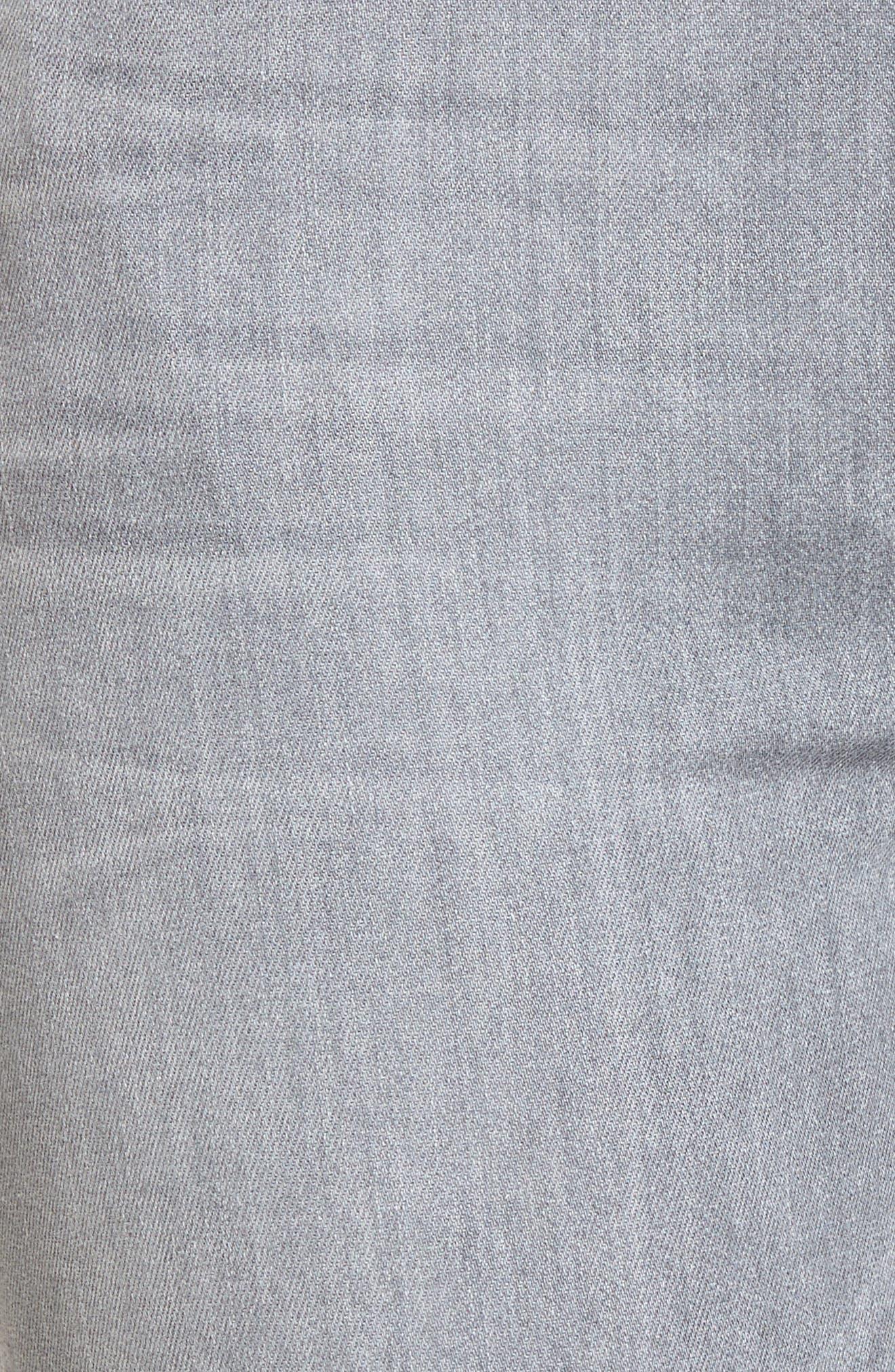 Rocket High Waist Crop Skinny Jeans,                             Alternate thumbnail 6, color,                             Rapture