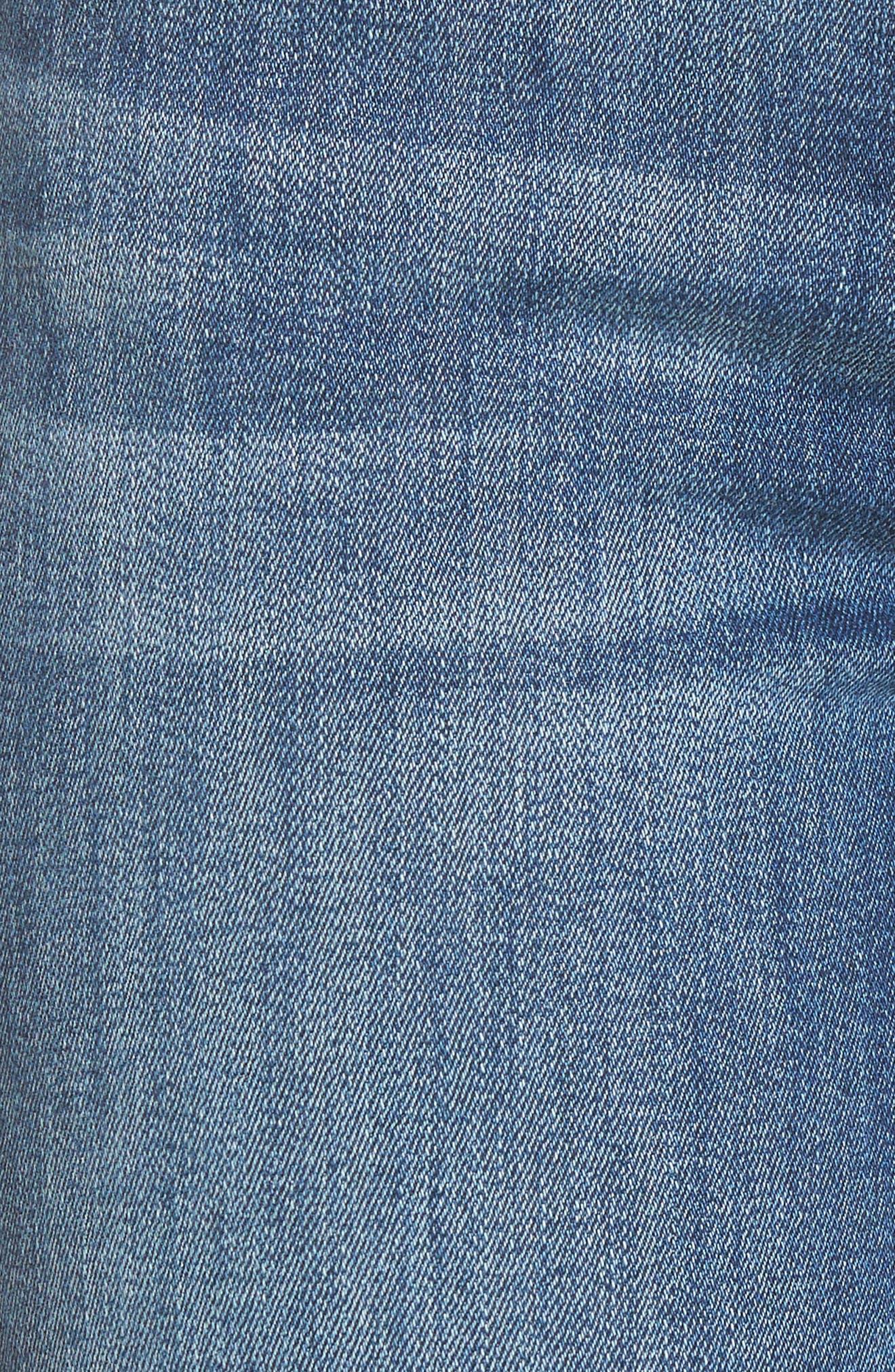 Mara Straight Leg Jeans,                             Alternate thumbnail 6, color,                             Spring Lake