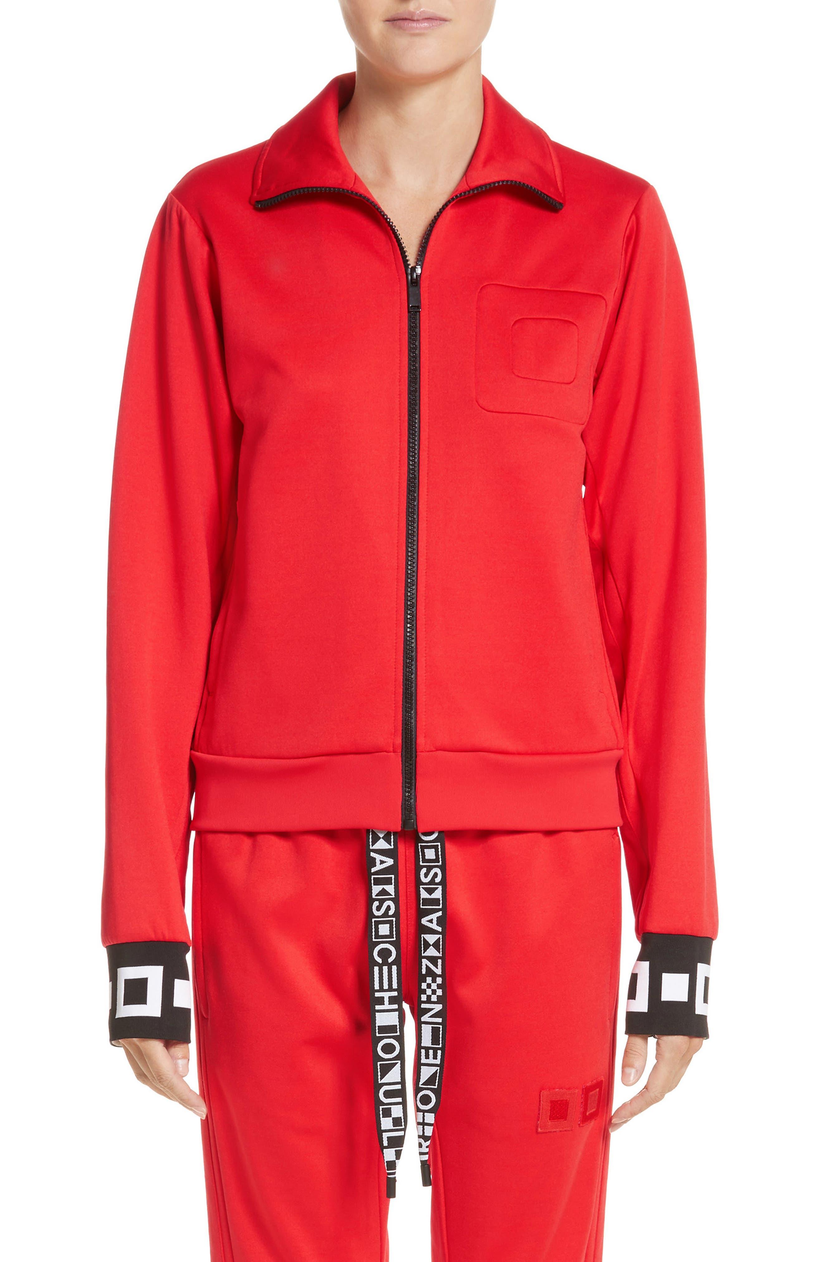 Alternate Image 1 Selected - Proenza Schouler PSWL Jersey Track Jacket