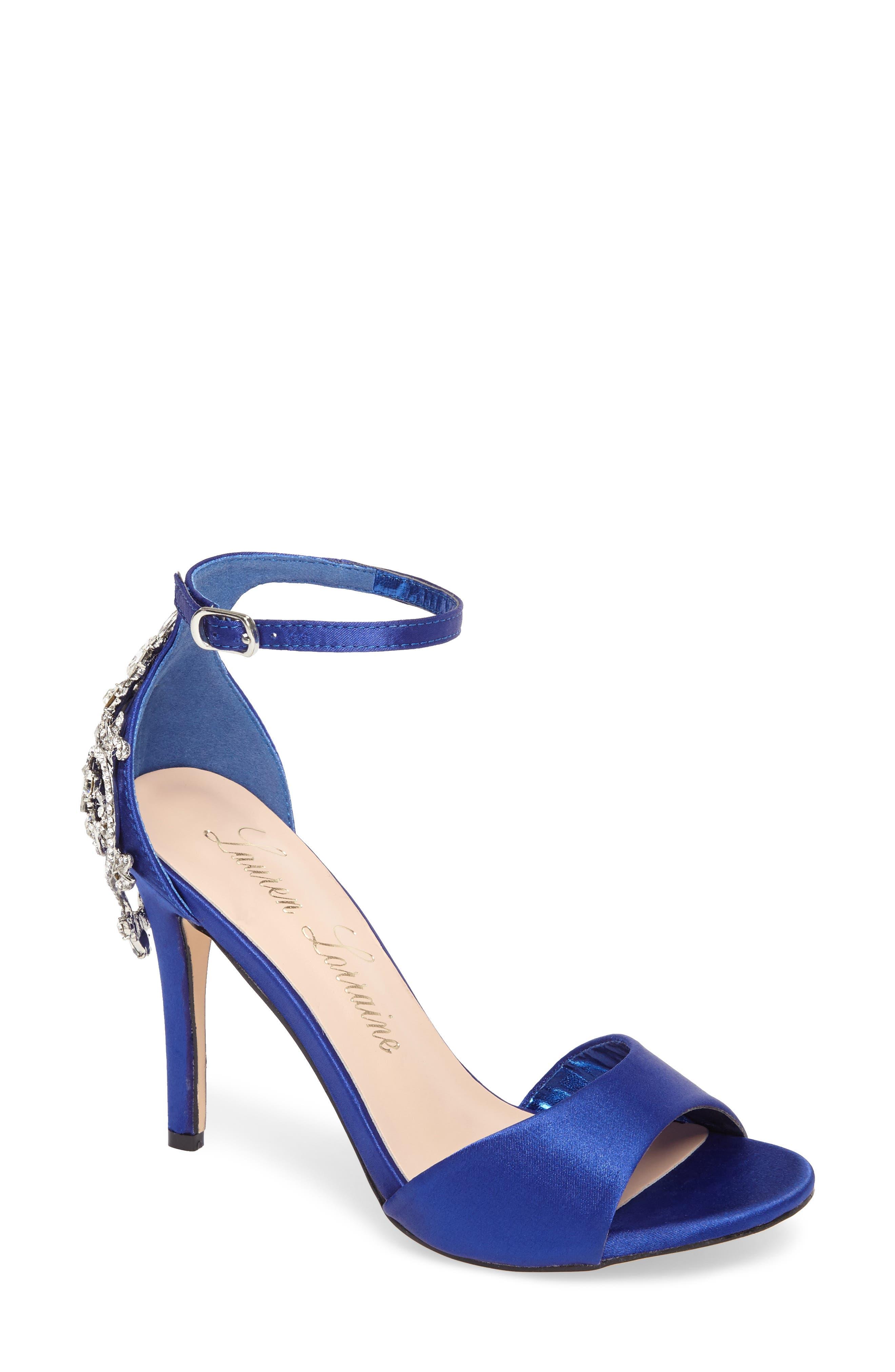 Lauren Lorraine Monet Crystal Embellished Sandal (Women)