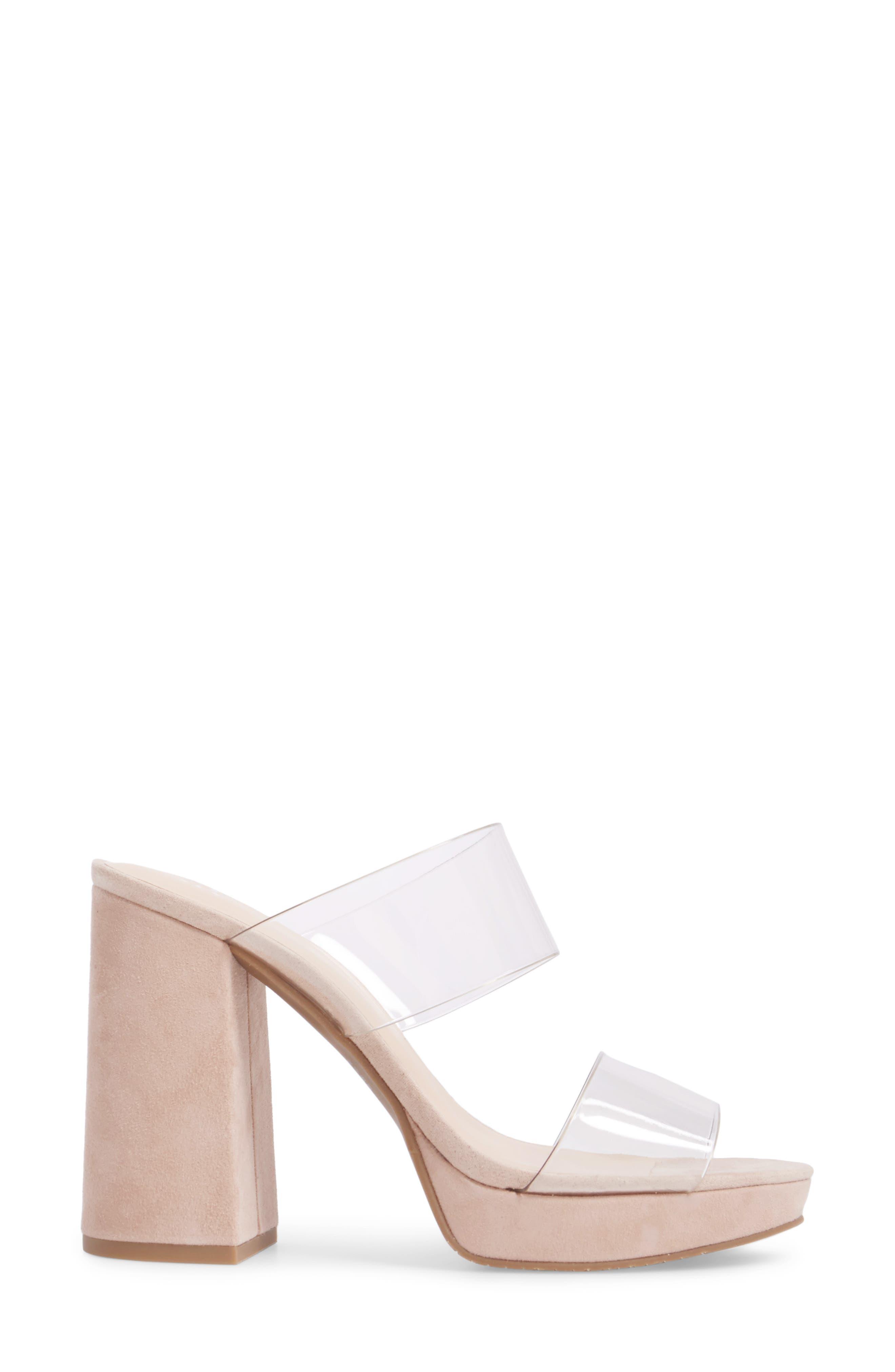 Sophia Platform Sandal,                             Alternate thumbnail 5, color,                             Blush