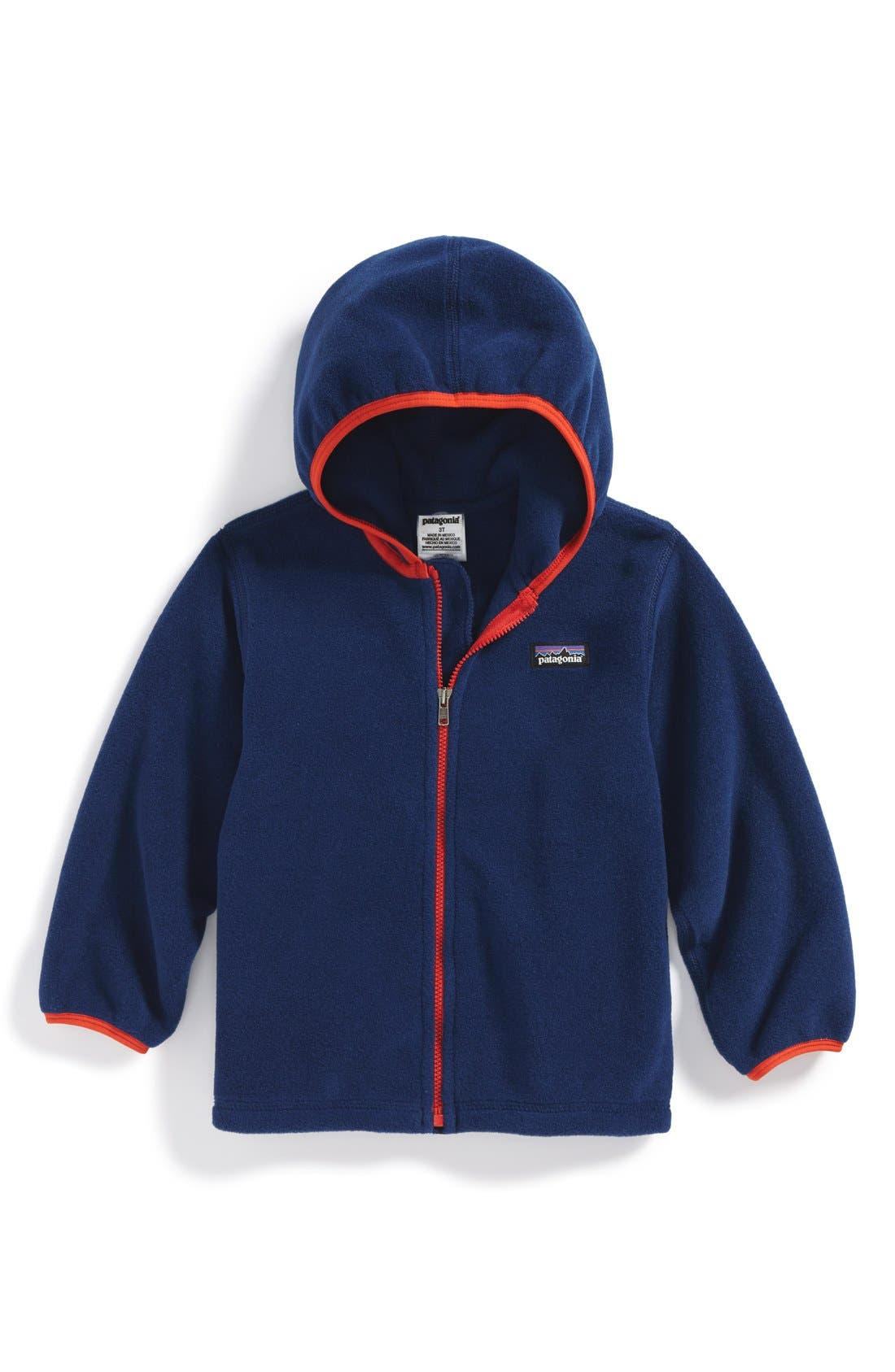 Main Image - Patagonia 'Synchilla®' Cardigan (Toddler)