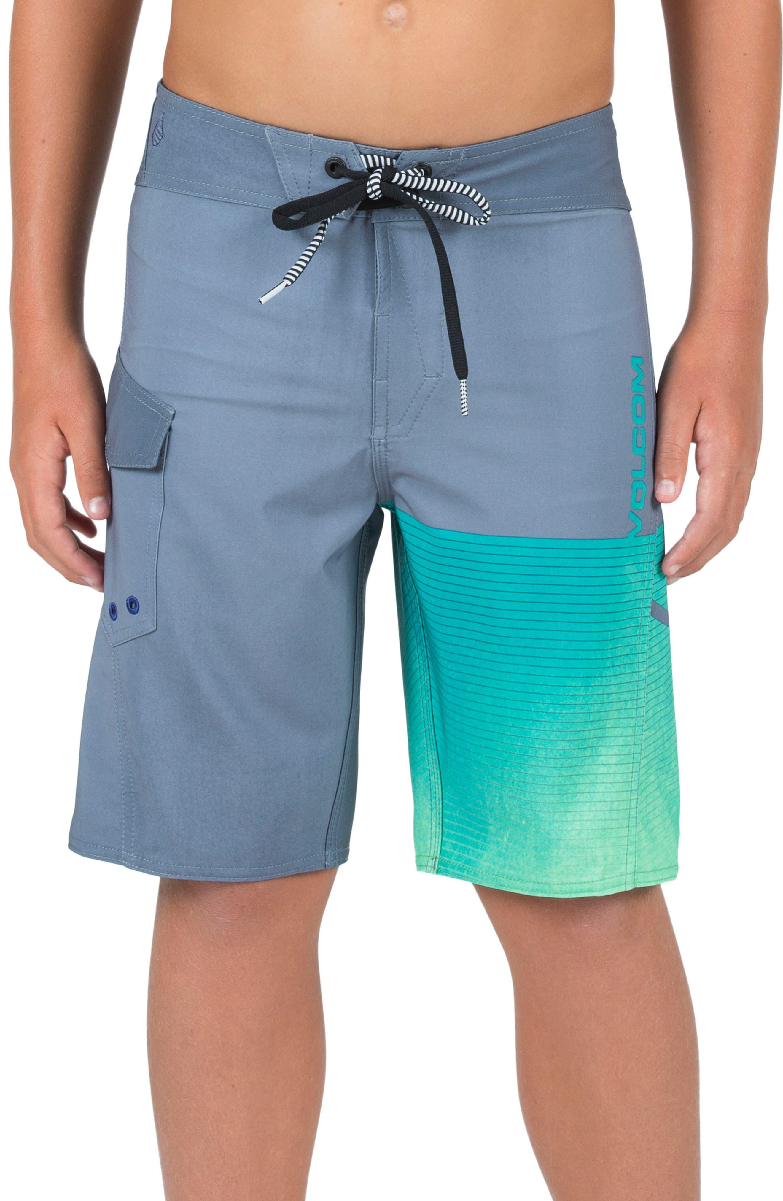 Costa Logo Mod Board Shorts,                         Main,                         color, Dusk Grey
