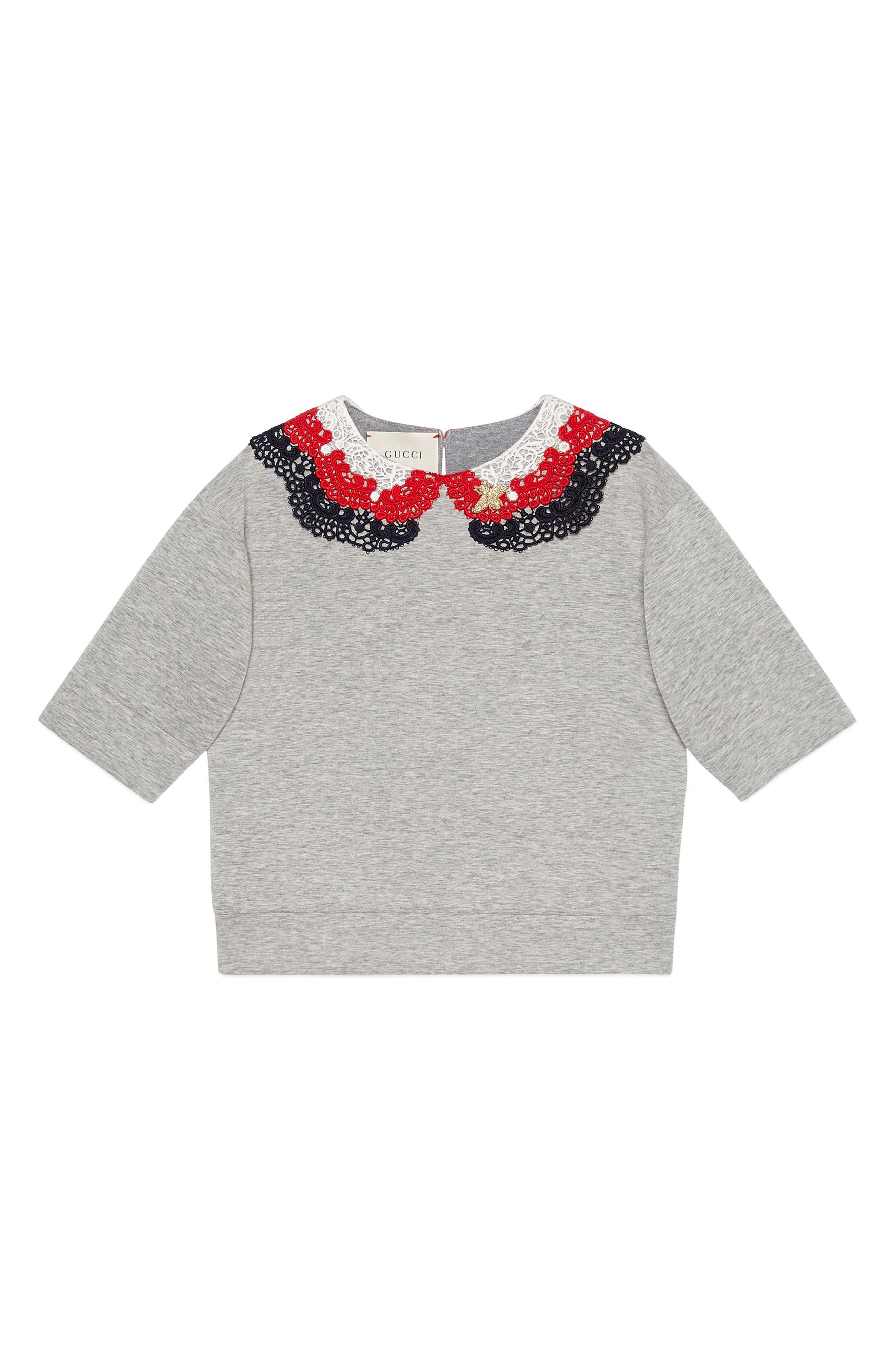 Sweatshirt,                         Main,                         color, Black/ Grey