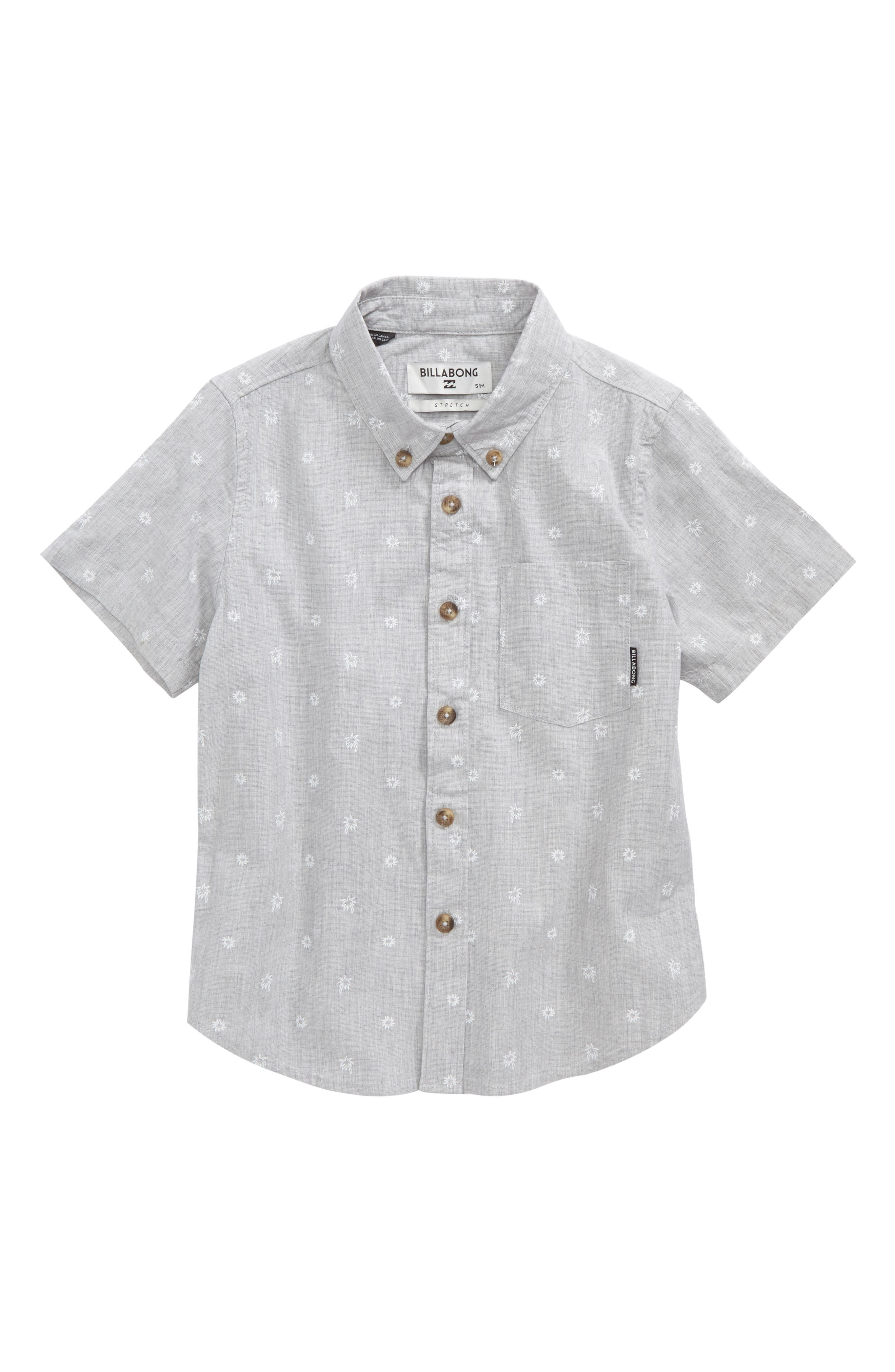 Alternate Image 1 Selected - Billabong Sundays Mini Woven Shirt (Toddler Boys & Little Boys)