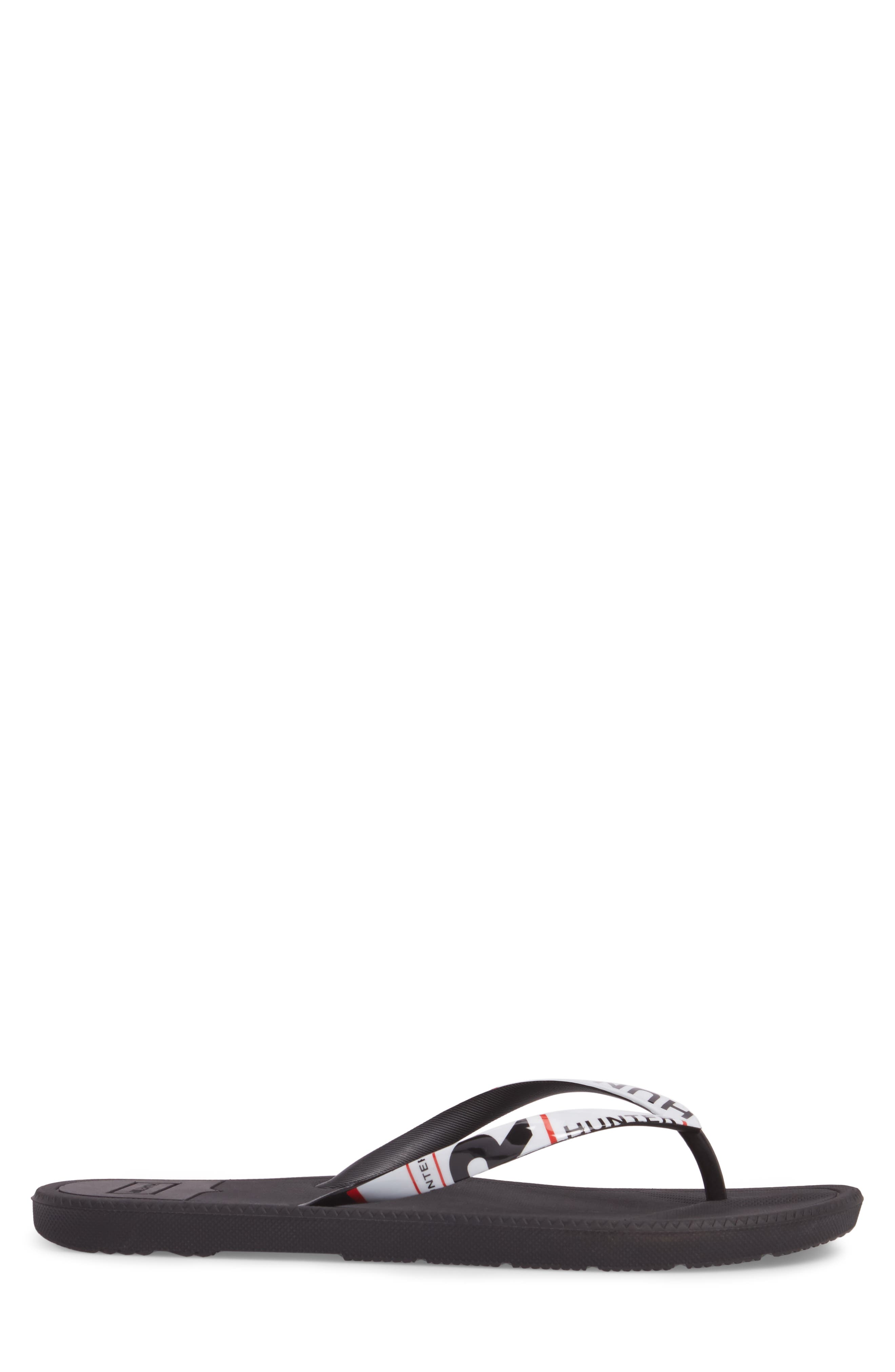 Original Exploded Logo Flip Flop,                             Alternate thumbnail 3, color,                             Black