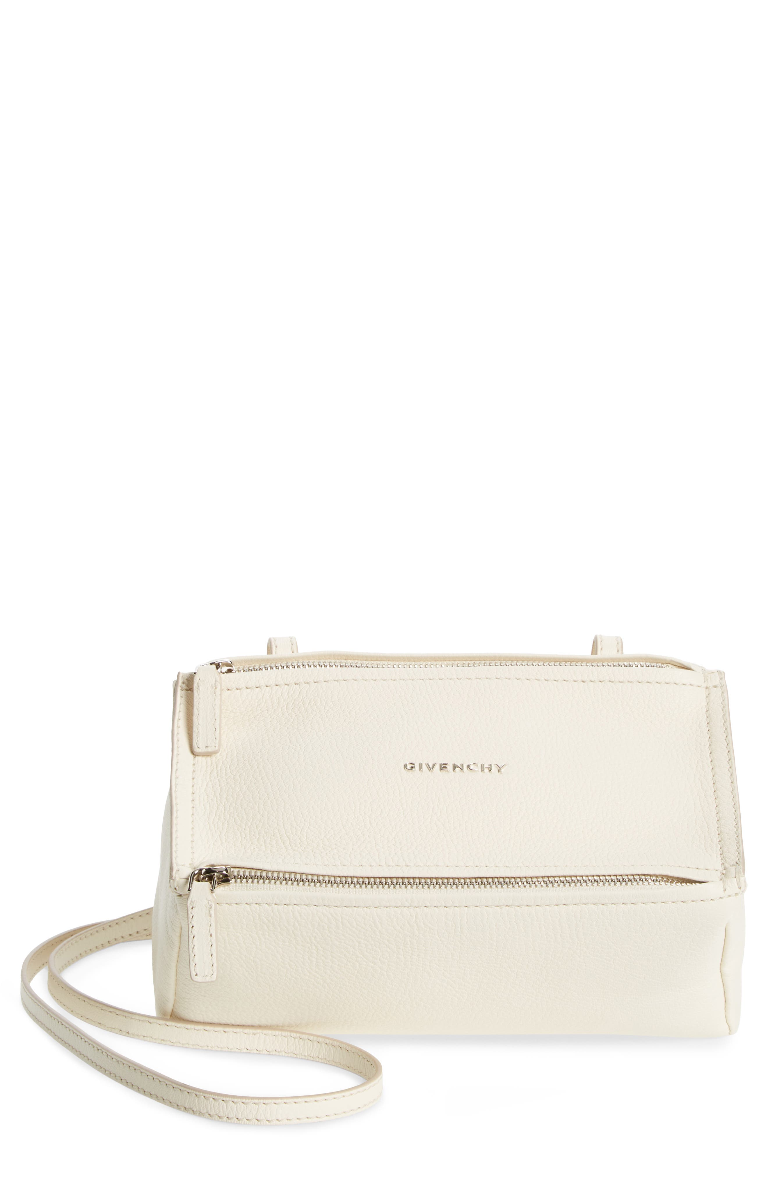 Alternate Image 1 Selected - Givenchy 'Mini Pandora' Sugar Leather Shoulder Bag