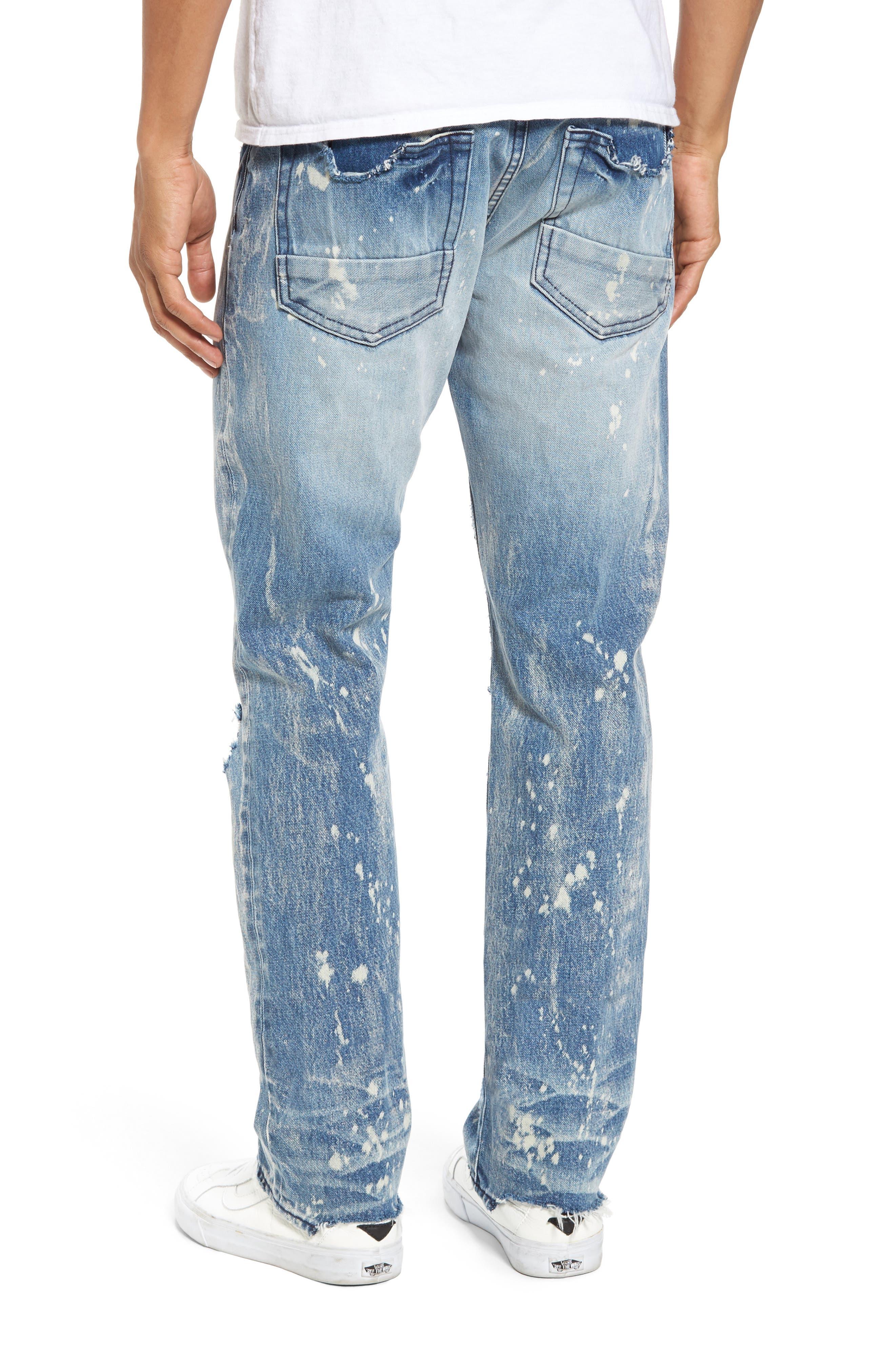 Alternate Image 2  - PRPS Demon Slim Straight Leg Jeans (Indigoblue)
