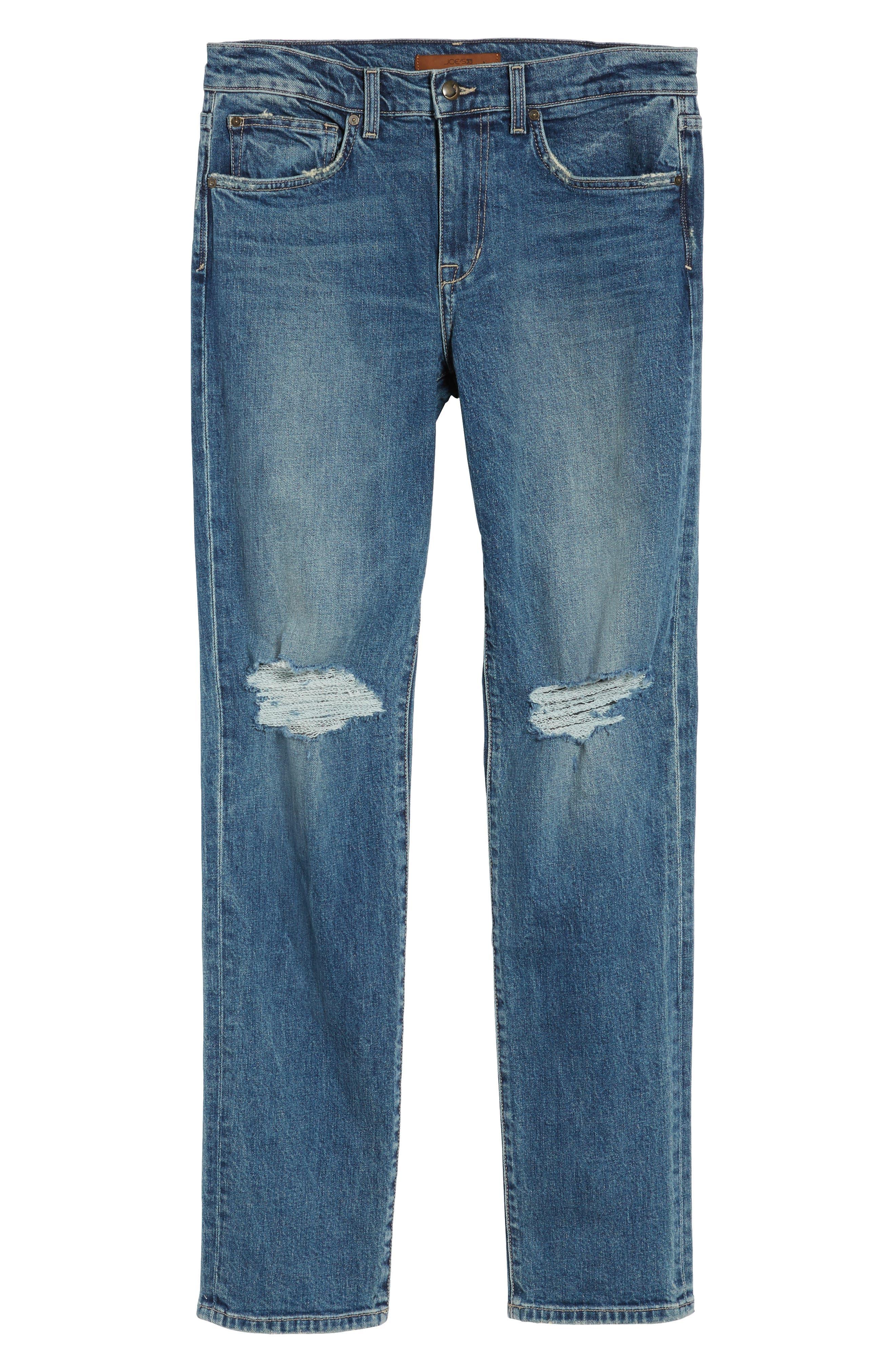 Slim Fit Jeans,                             Alternate thumbnail 6, color,                             Olson