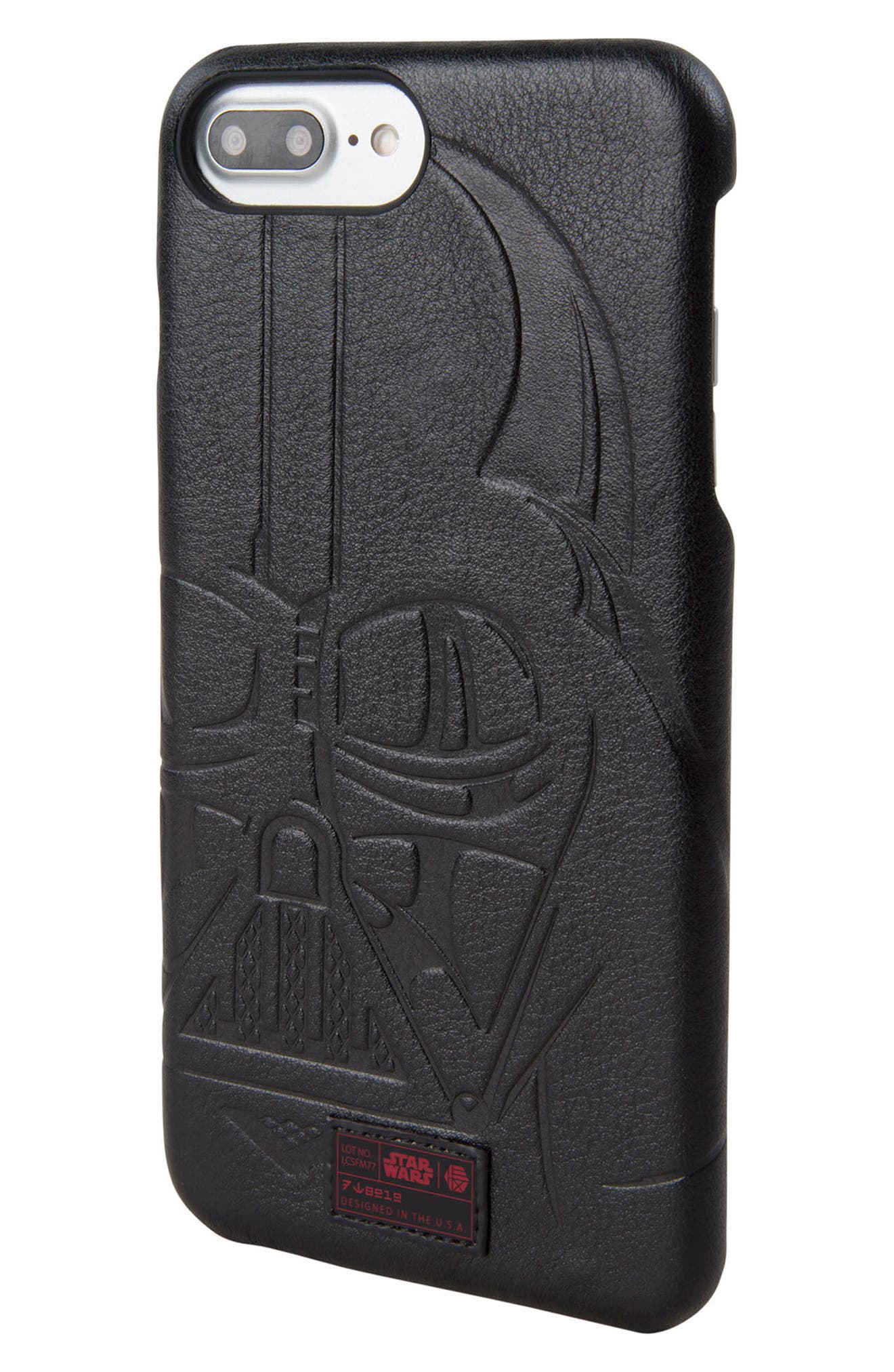 Darth Vader iPhone 6/6s/7/8 Plus Case,                             Main thumbnail 1, color,                             Black