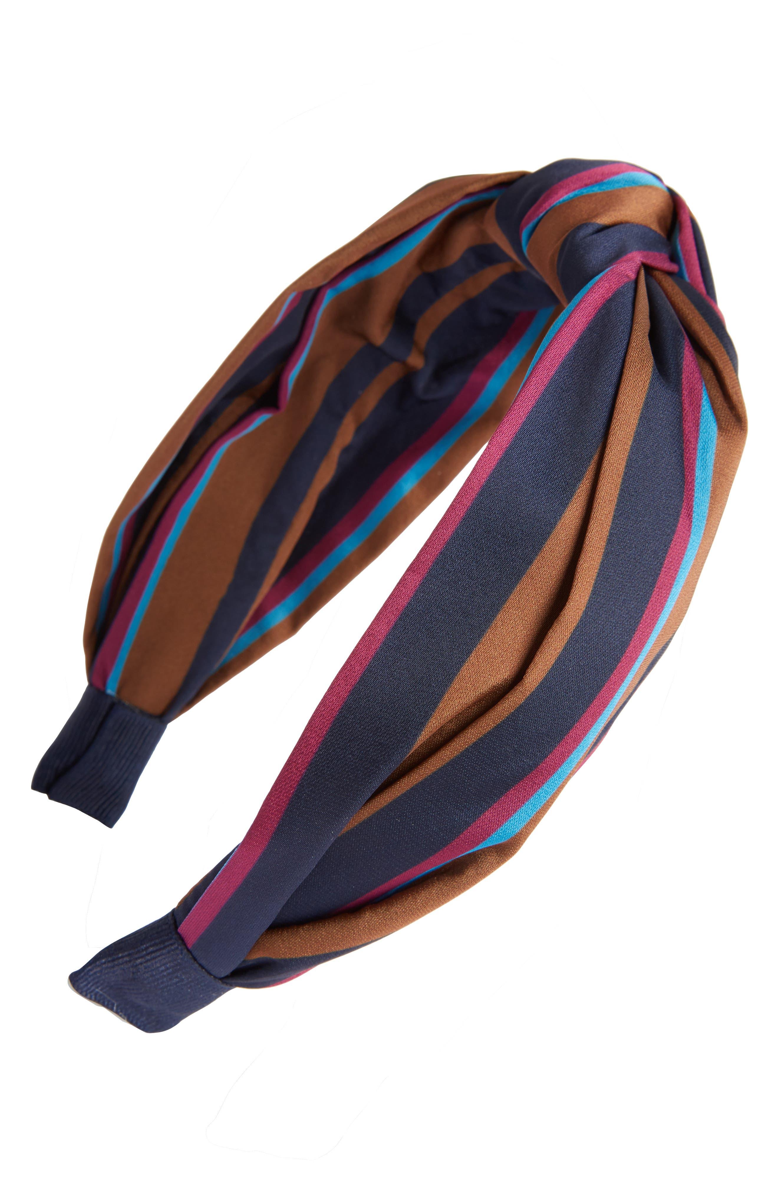 Tasha Stripe Knotted Headband