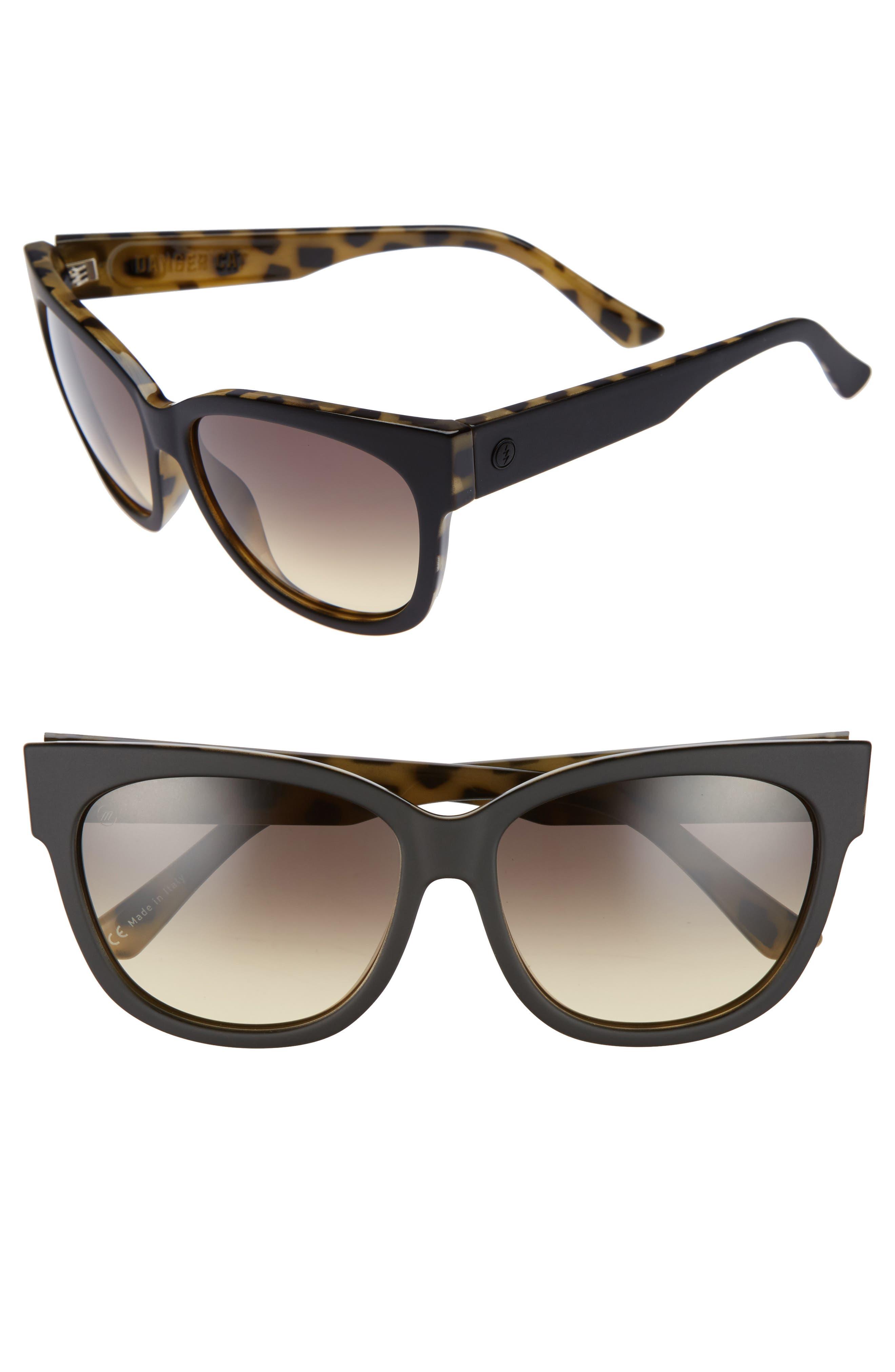 Main Image - ELECTRIC 'Danger Cat' 58mm Cat Eye Sunglasses