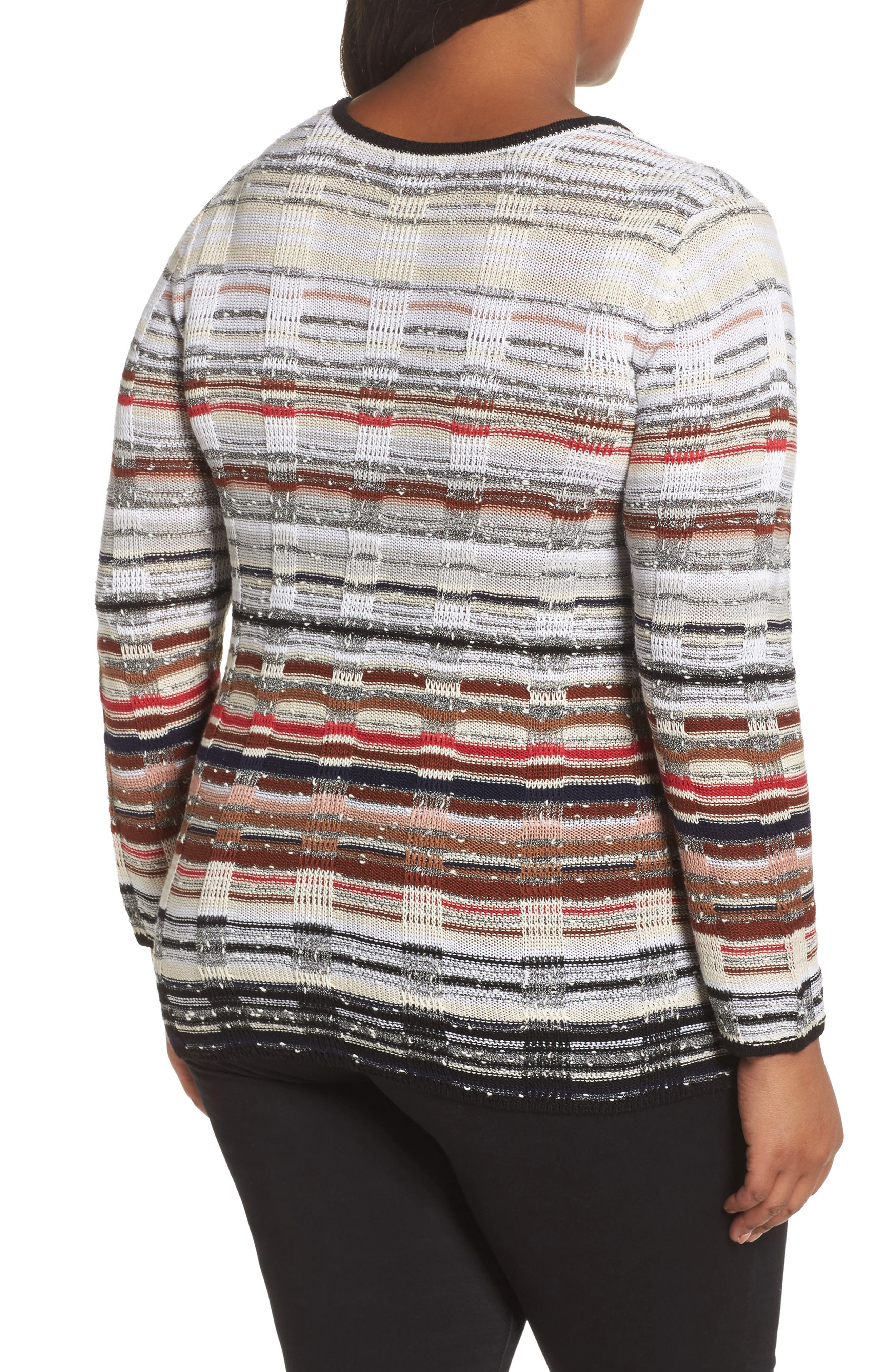 Red Hills Sweater,                             Alternate thumbnail 2, color,                             Multi