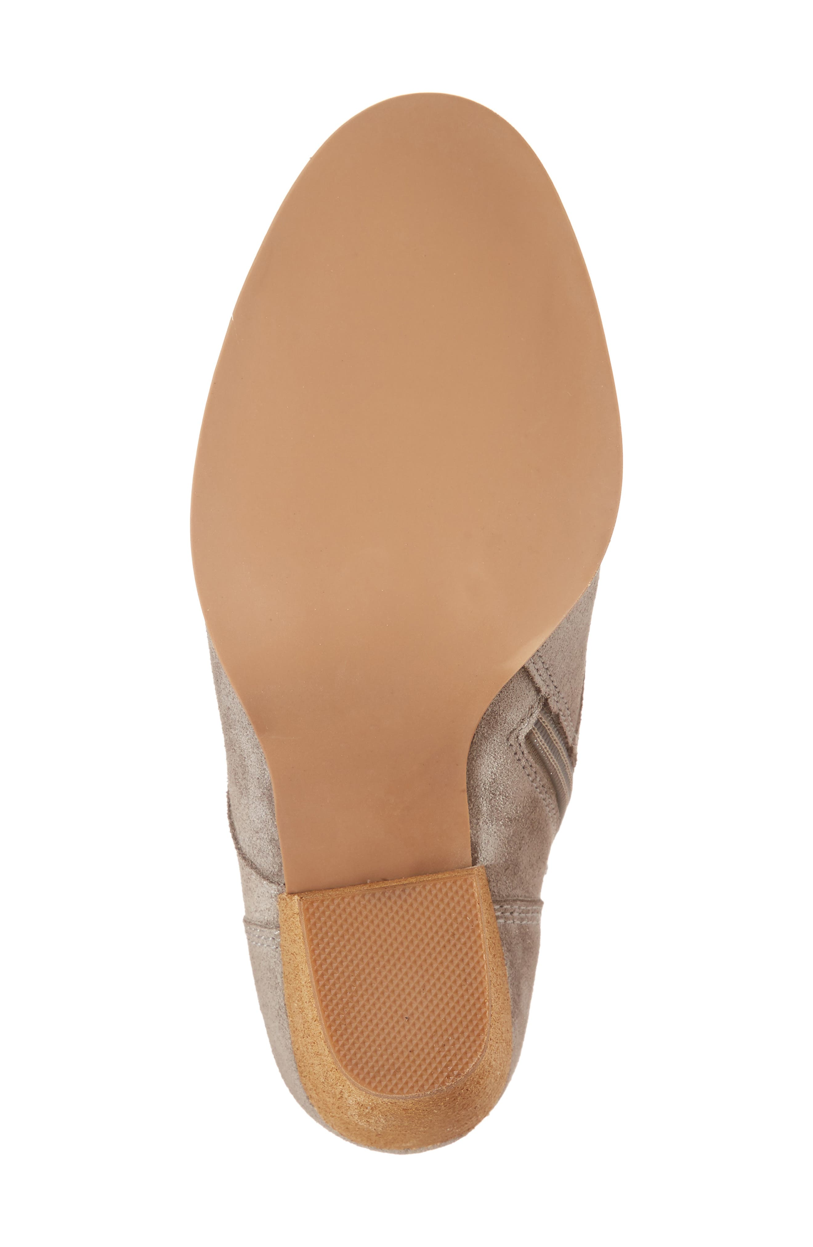 Elman Bootie,                             Alternate thumbnail 6, color,                             Taupe Suede