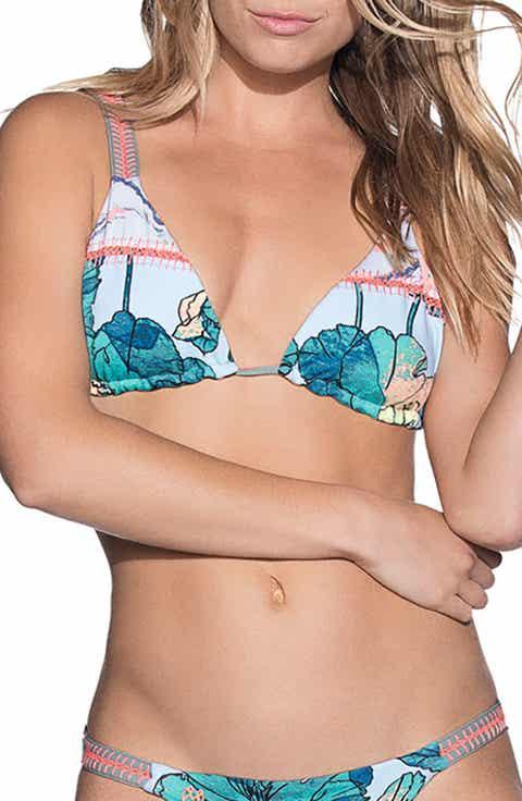 Maaji Wayuu Dance Reversible Triangle Bikini Top