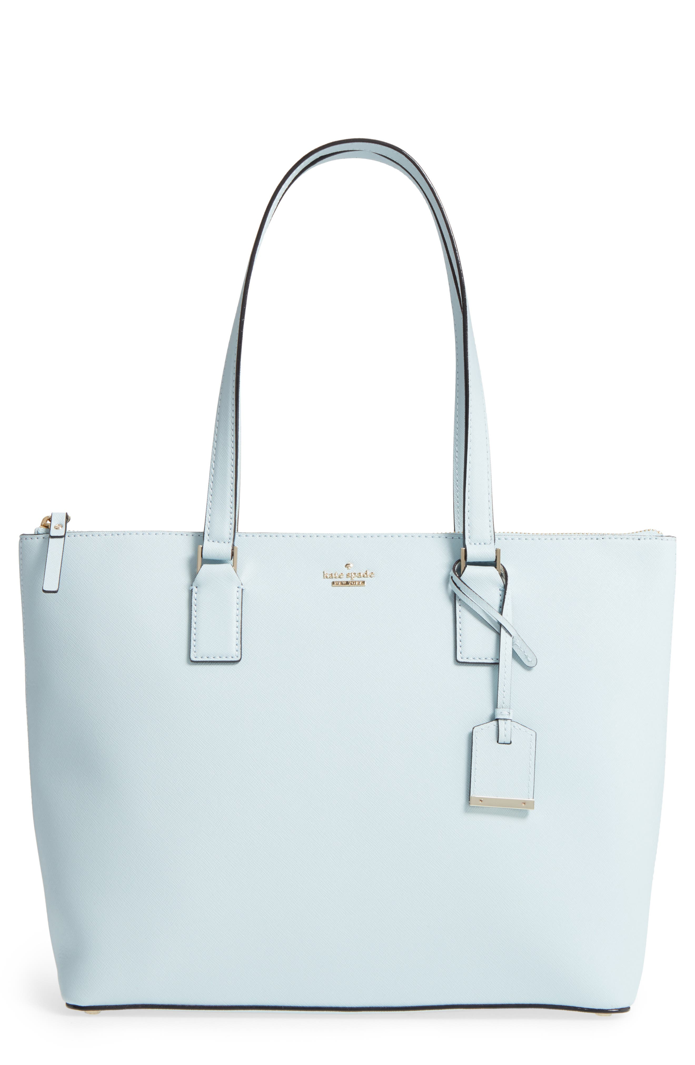 'cameron street - lucie' tote,                         Main,                         color, Shimmer Blue
