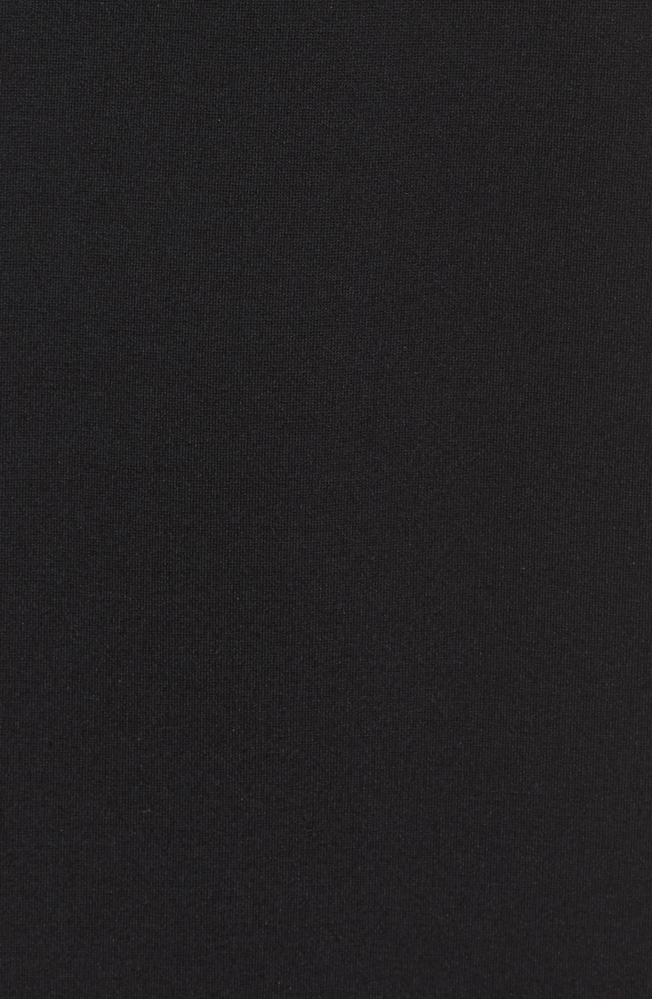 Kena Cold Shoulder Sheath Dress,                             Alternate thumbnail 5, color,                             Black
