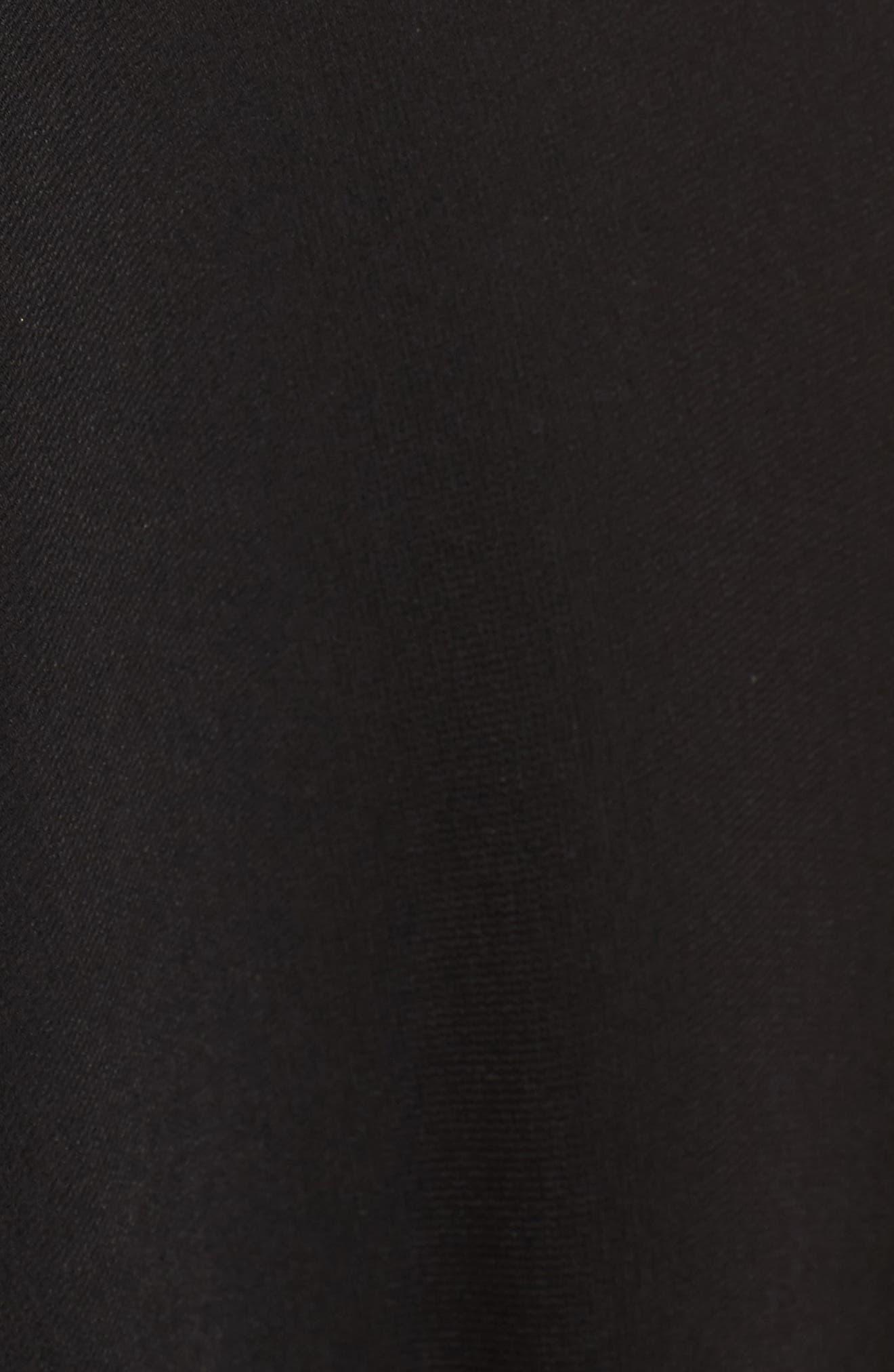Kerry Maxi Dress,                             Alternate thumbnail 5, color,                             Black
