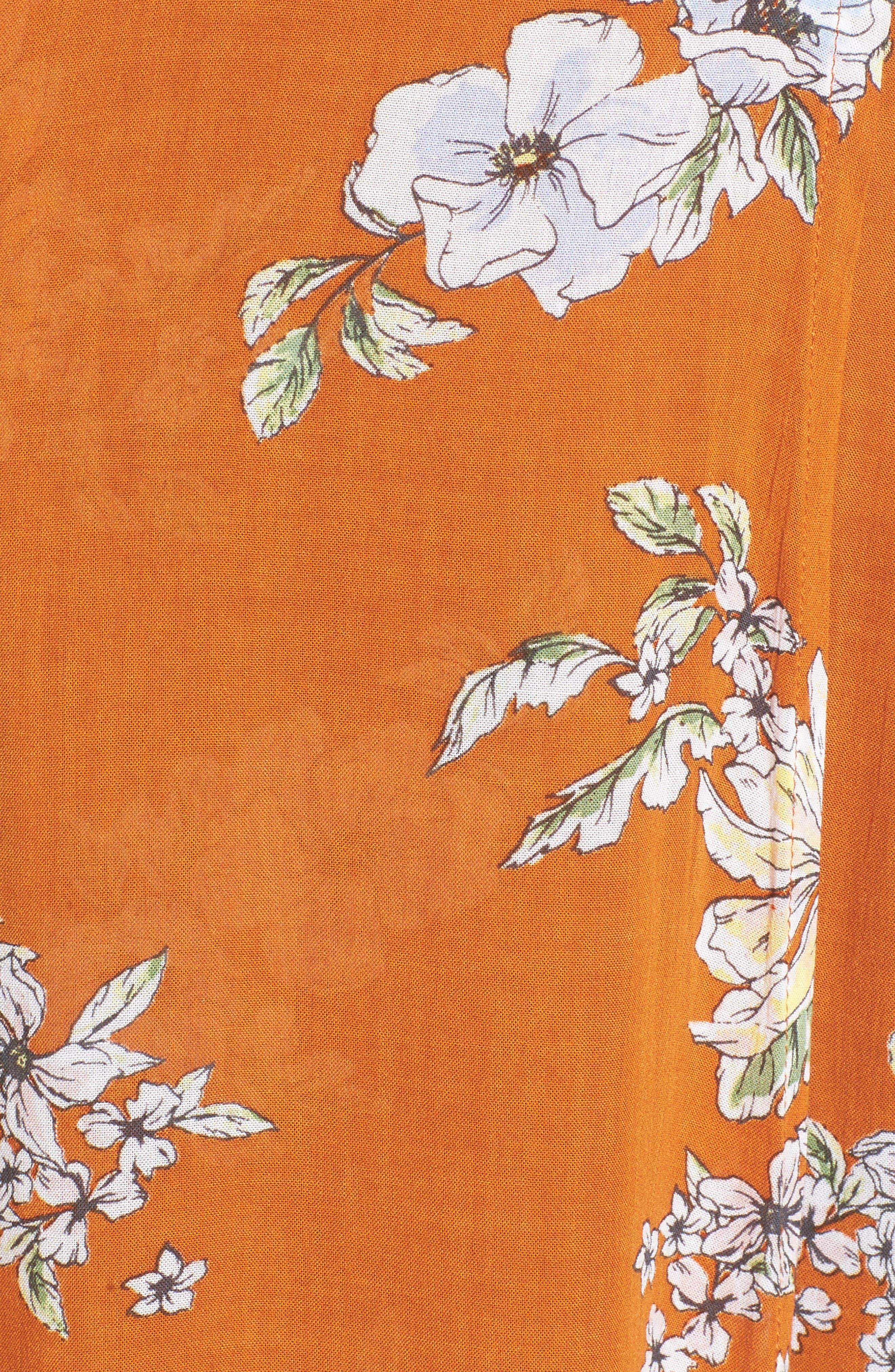 Alternate Image 5  - FAITHFULL THE BRAND Bergamo Floral Wrap Maxi Dress
