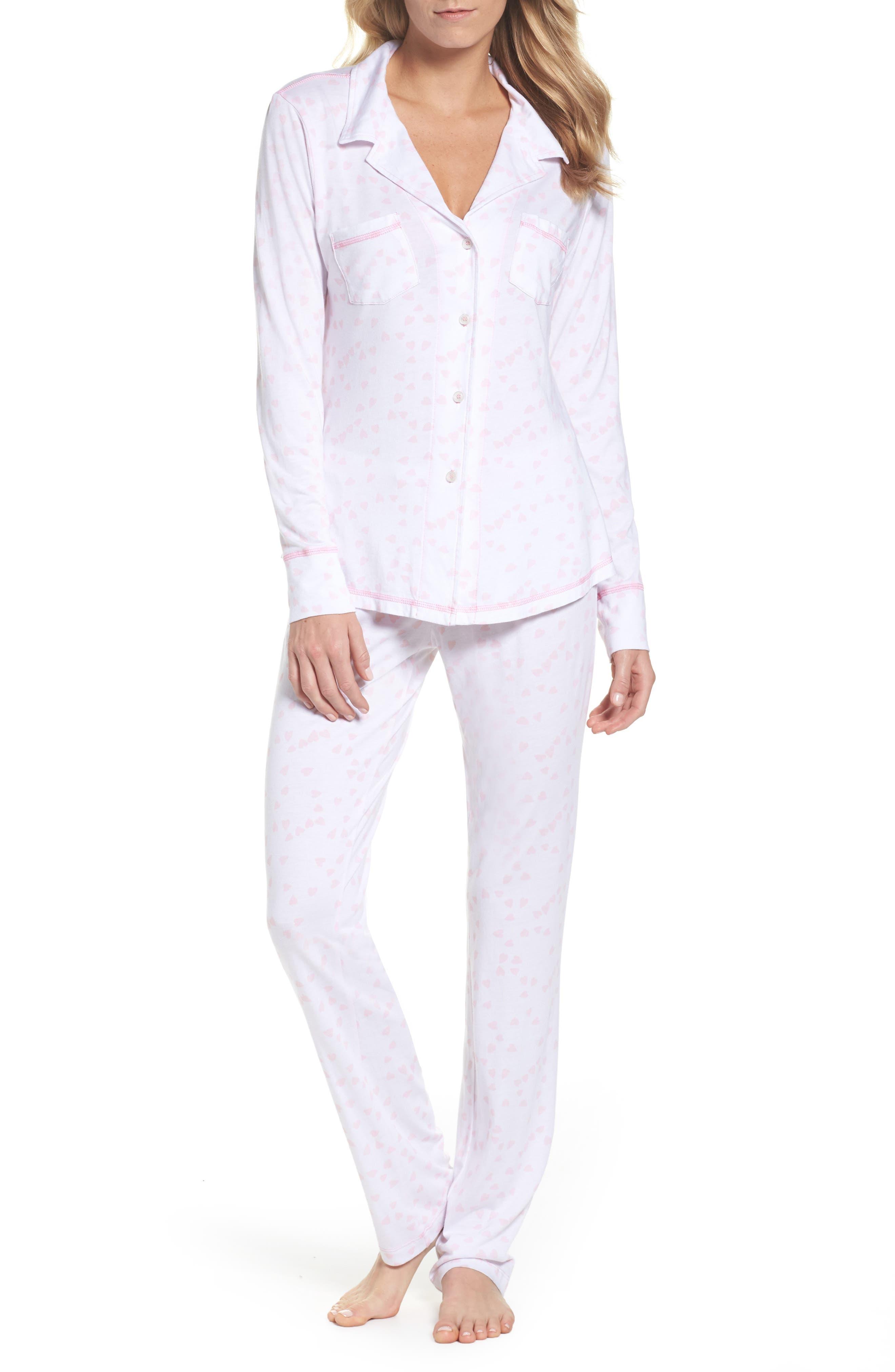 Alternate Image 1 Selected - LOVE+GRACE Cassie Pajamas