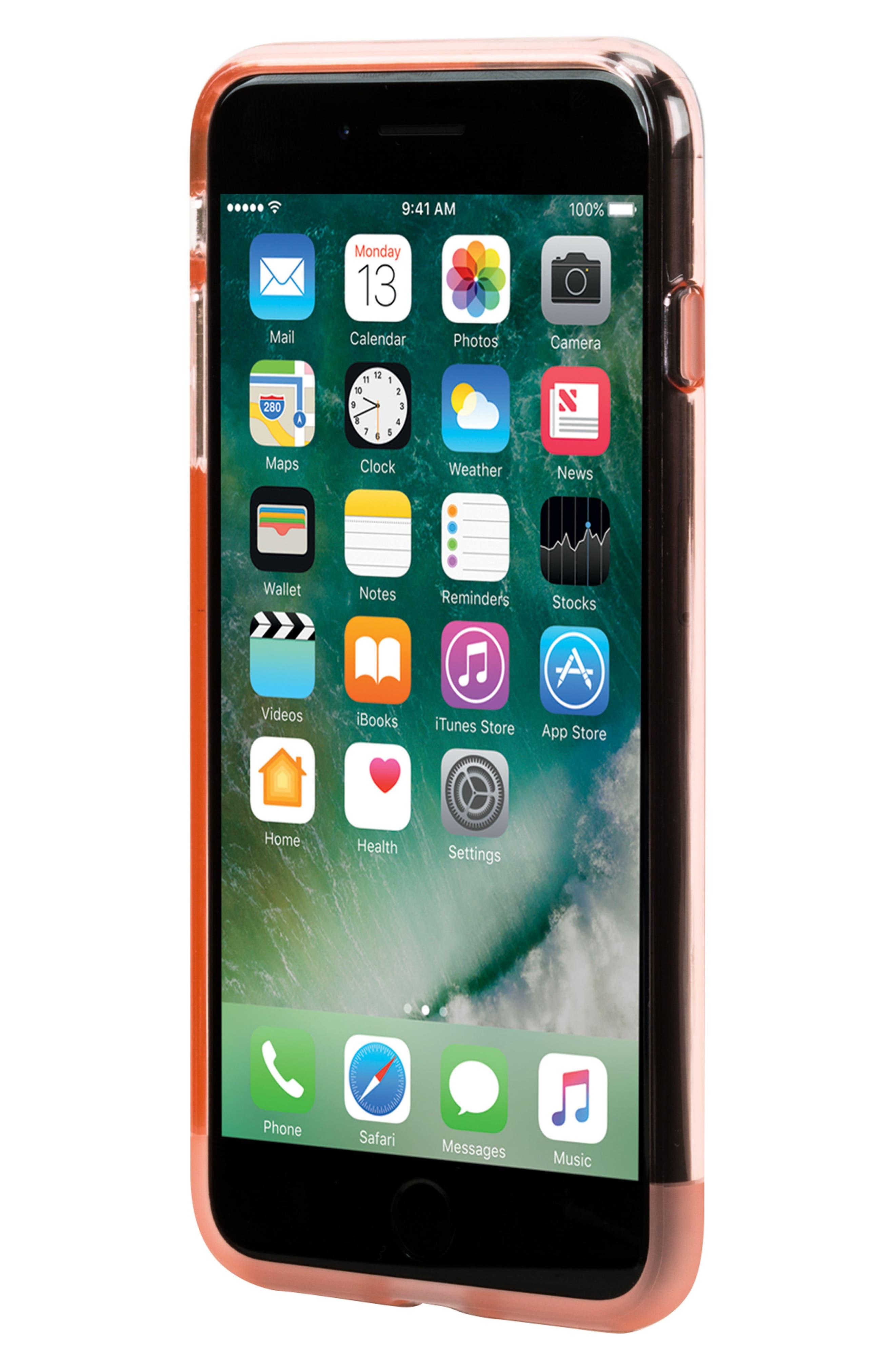 Protective iPhone 7 Plus/8 Plus Case,                             Alternate thumbnail 5, color,                             Rose Quartz