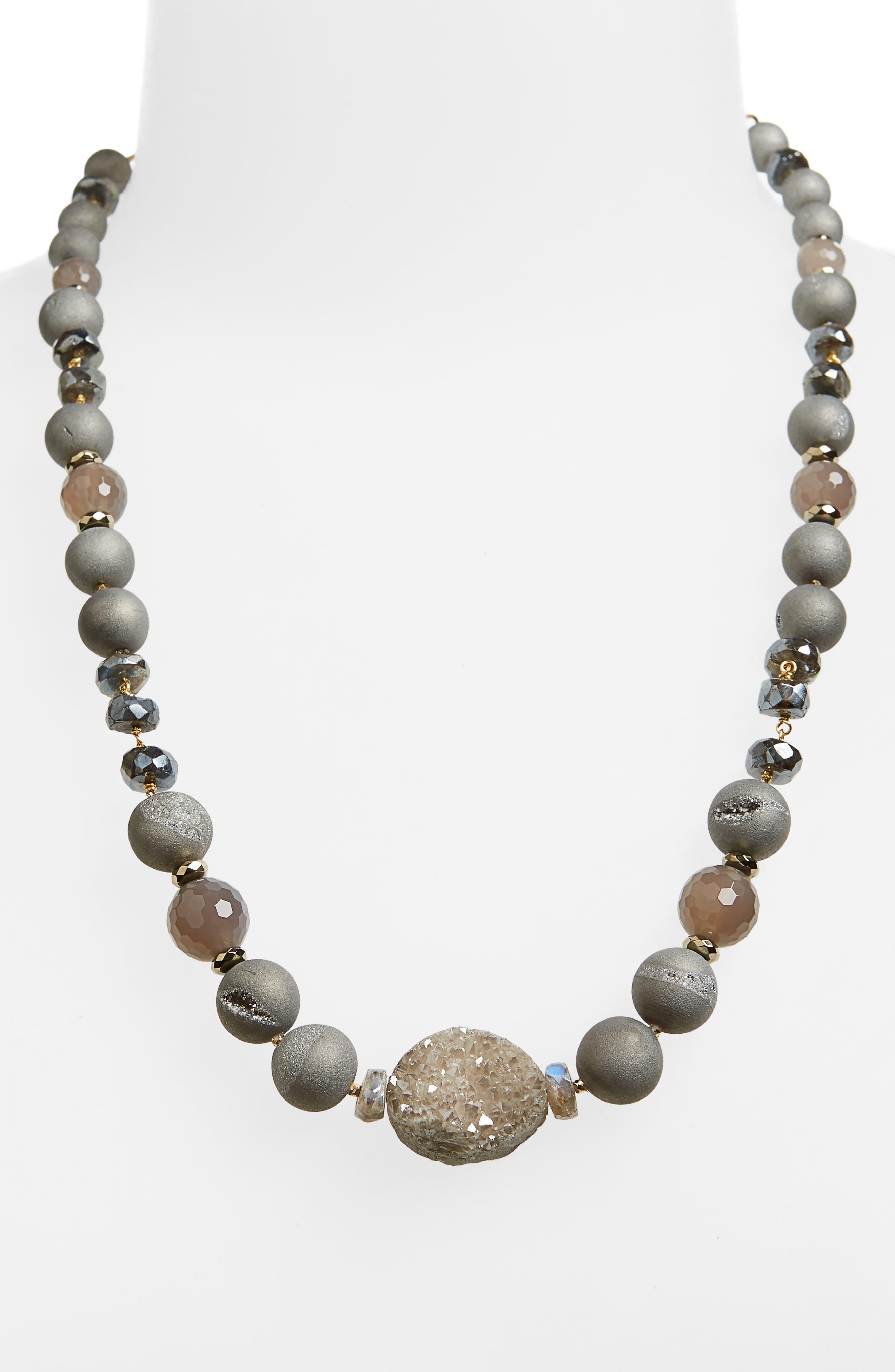Chan Luu Semiprecious Beaded Necklace