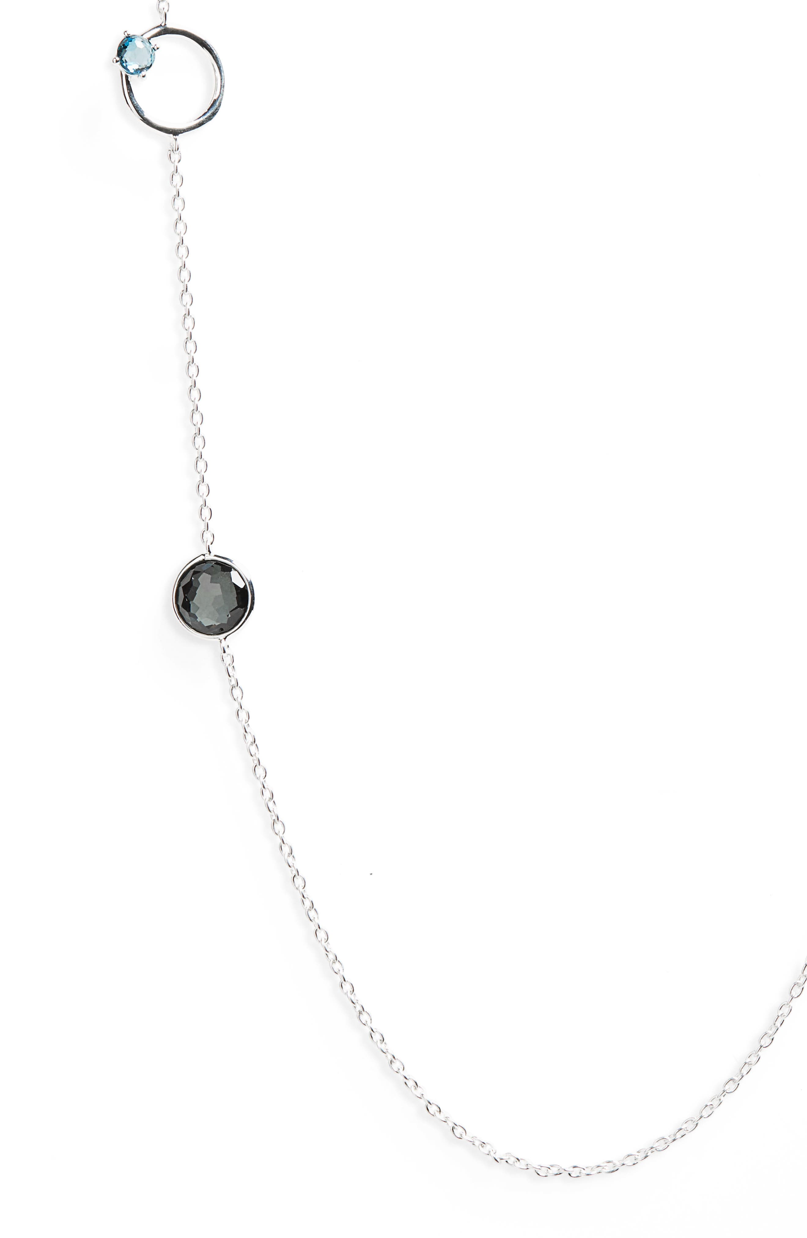 Rock Candy Strand Necklace,                             Alternate thumbnail 2, color,                             Eclipse