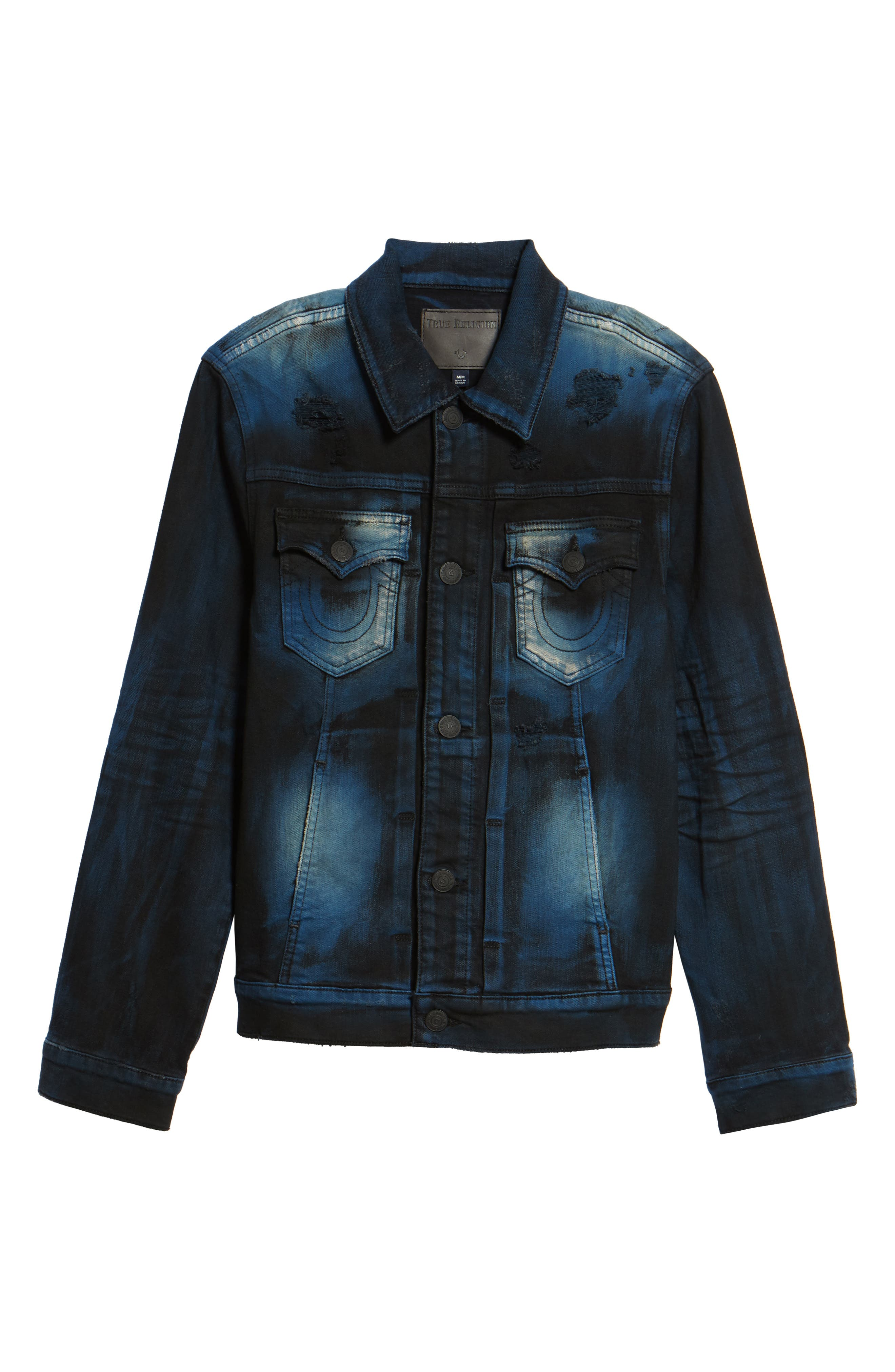 Alternate Image 6  - True Religion Brand Jeans Dylan Renegade Denim Jacket