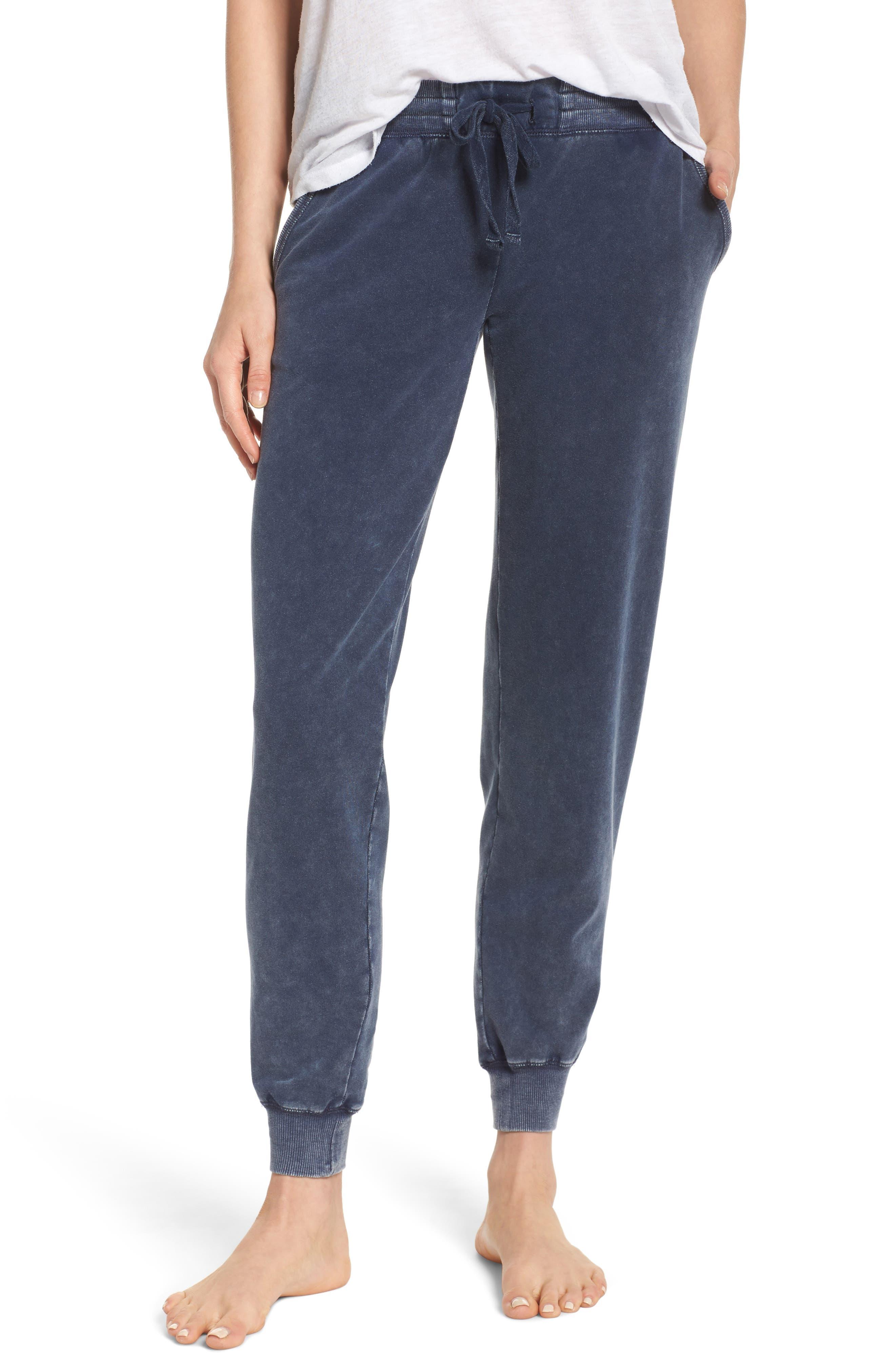 Lounge Pants,                         Main,                         color, Indigo