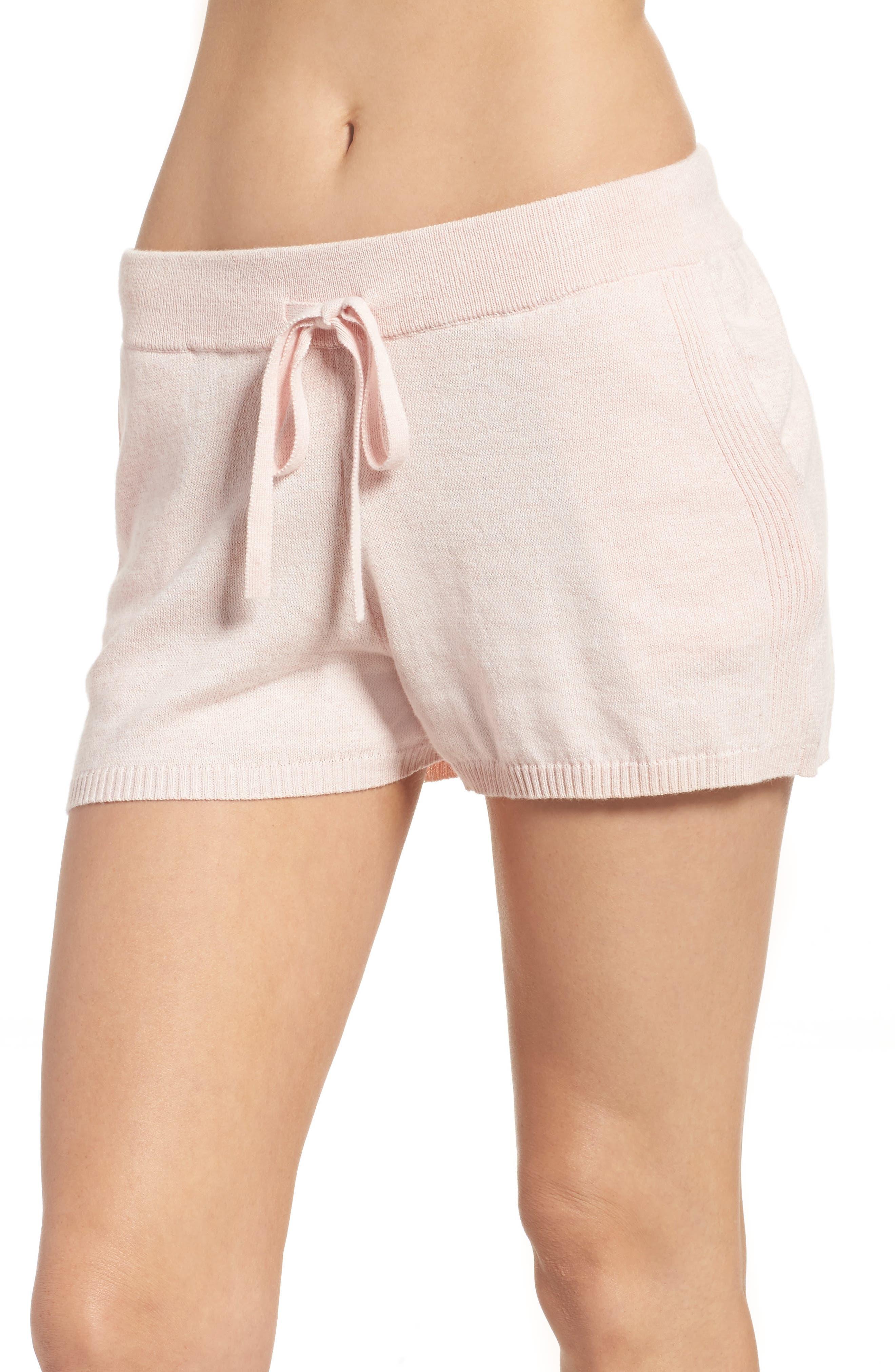 Vic Lounge Shorts,                         Main,                         color, Soft Pink