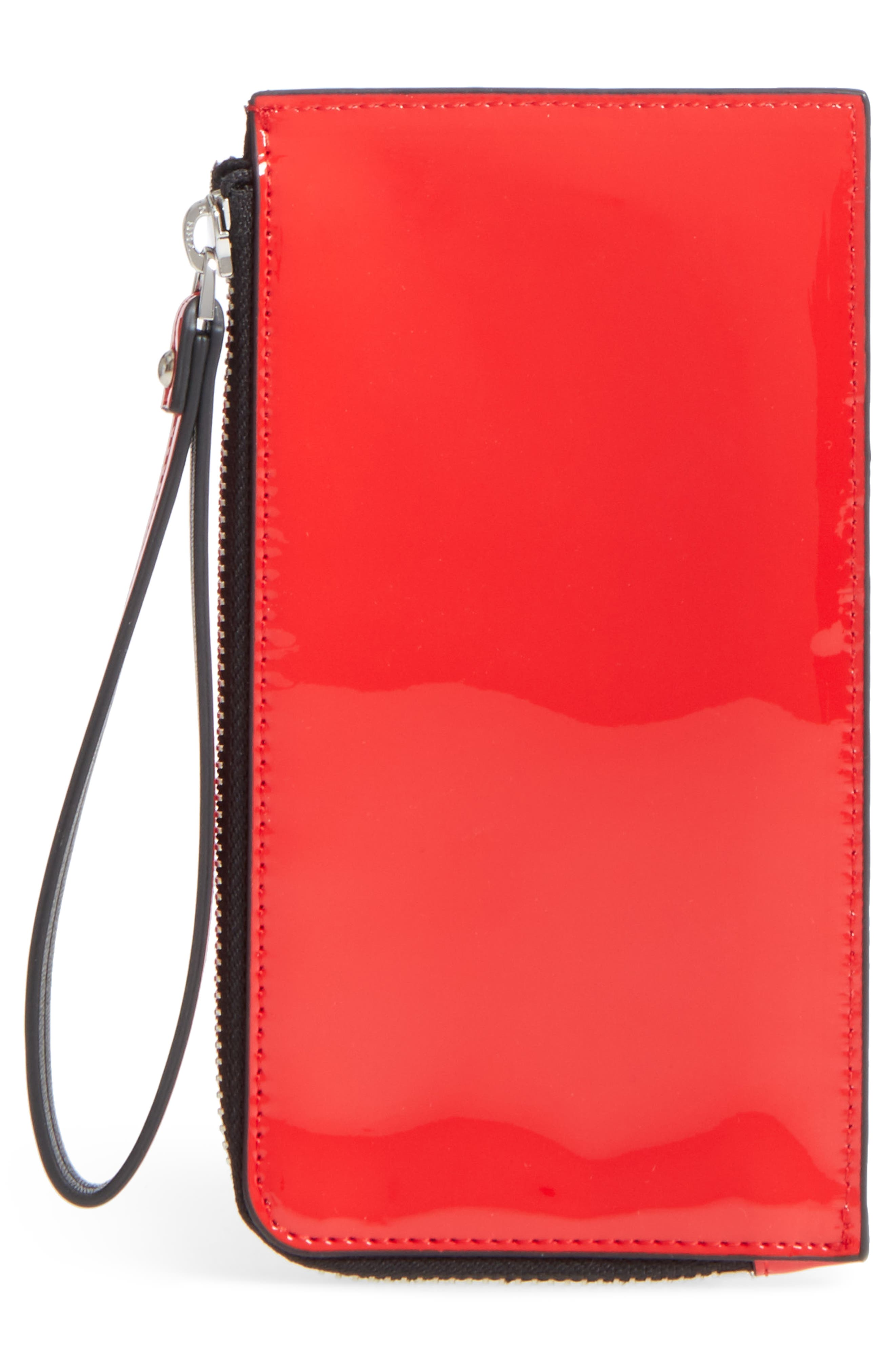 Skye Card Case,                             Alternate thumbnail 3, color,                             Fiery Red