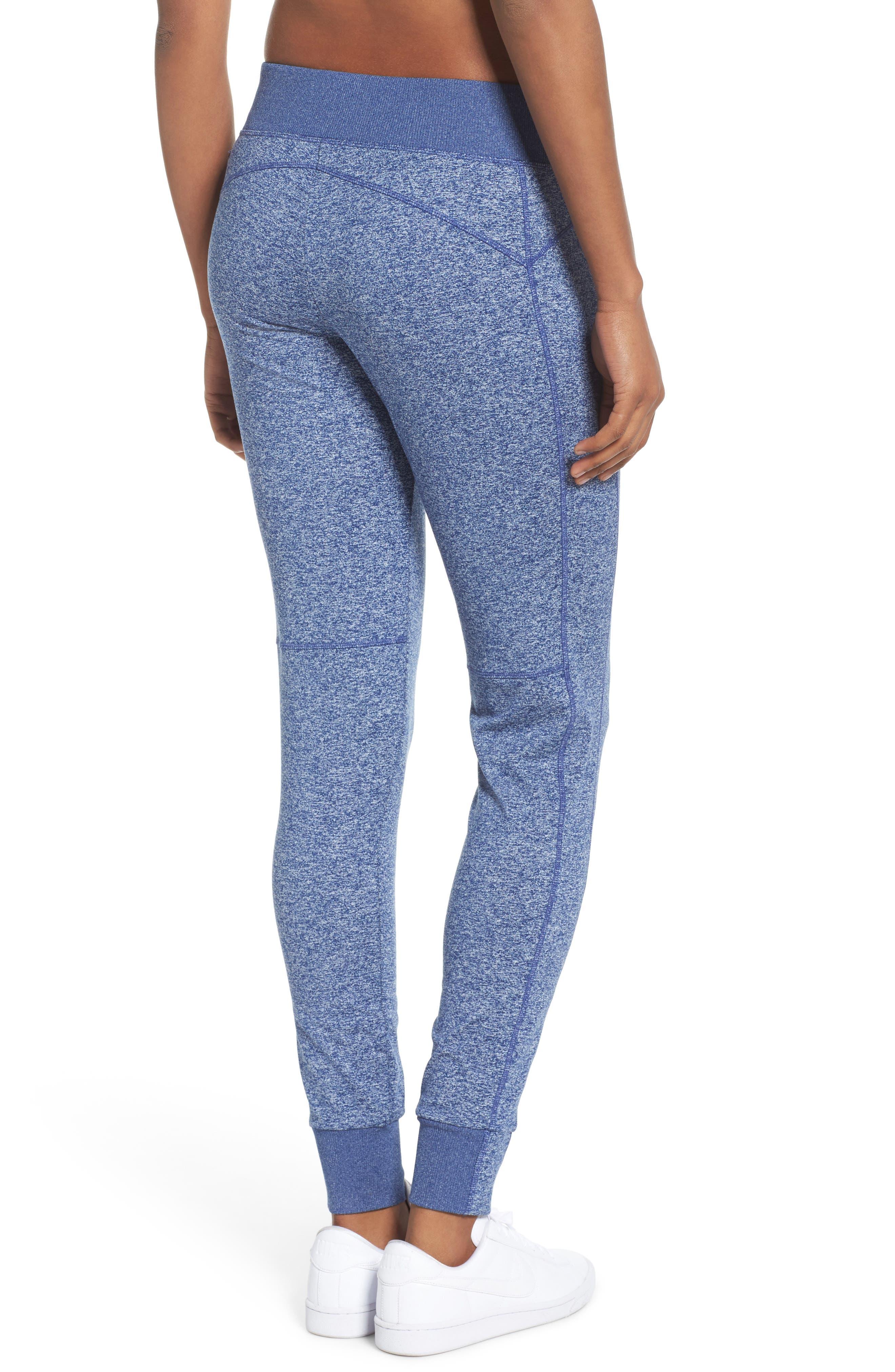Taryn Sport Knit Pants,                             Alternate thumbnail 2, color,                             Blue Depths Melange