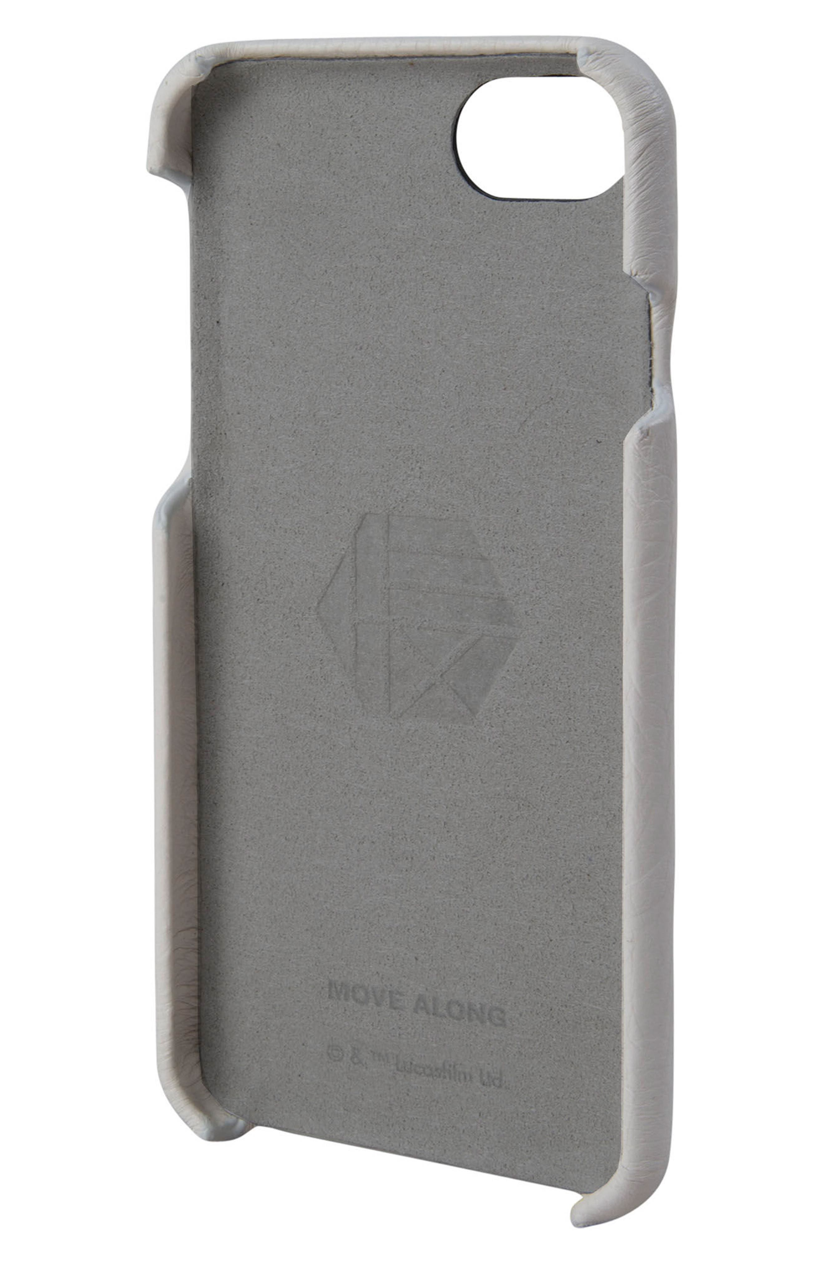 Stormtrooper iPhone 6/6s/7/8 Case,                             Alternate thumbnail 2, color,                             White