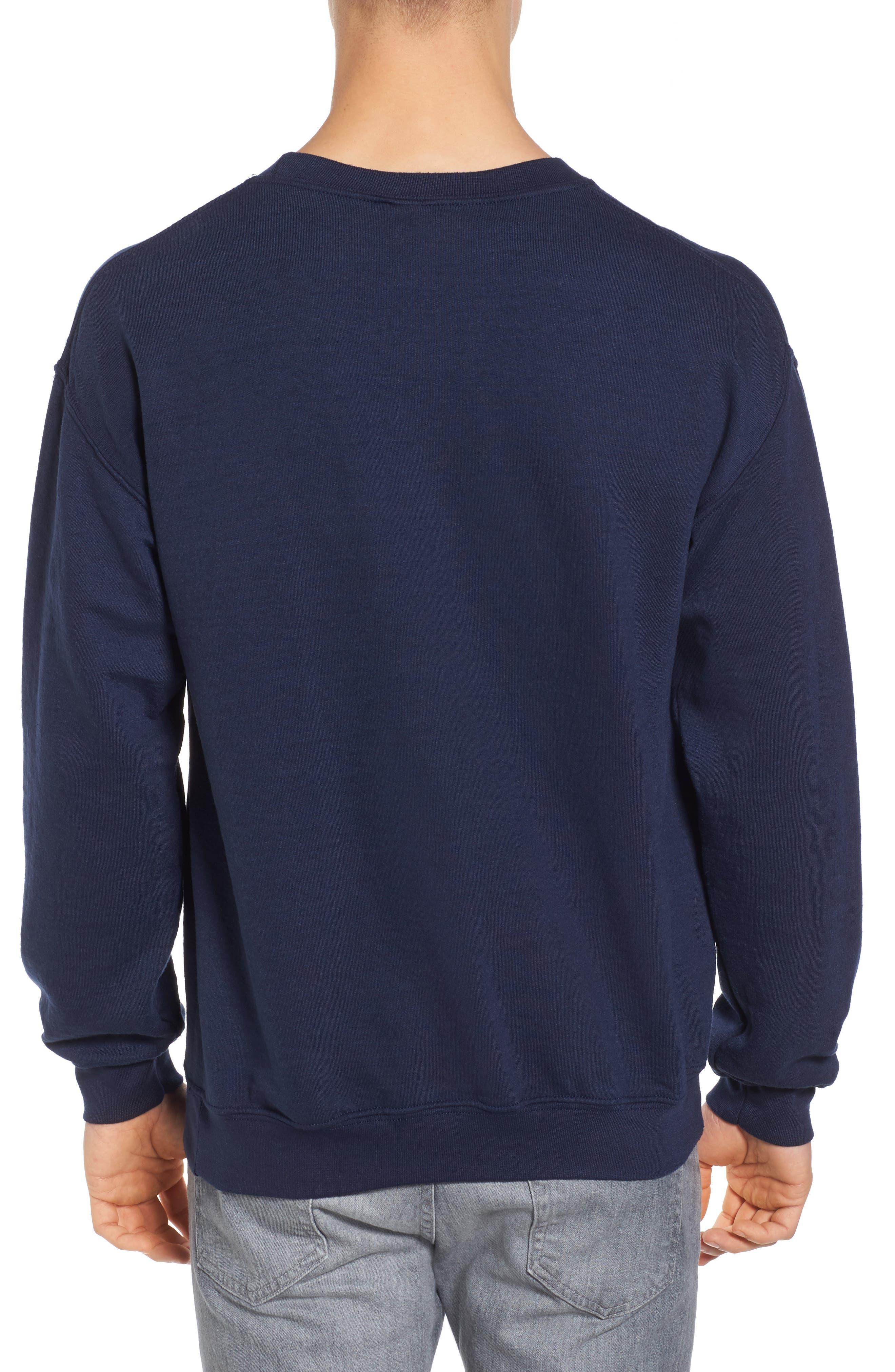 Natural Mushroom Sweatshirt,                             Alternate thumbnail 2, color,                             Blue