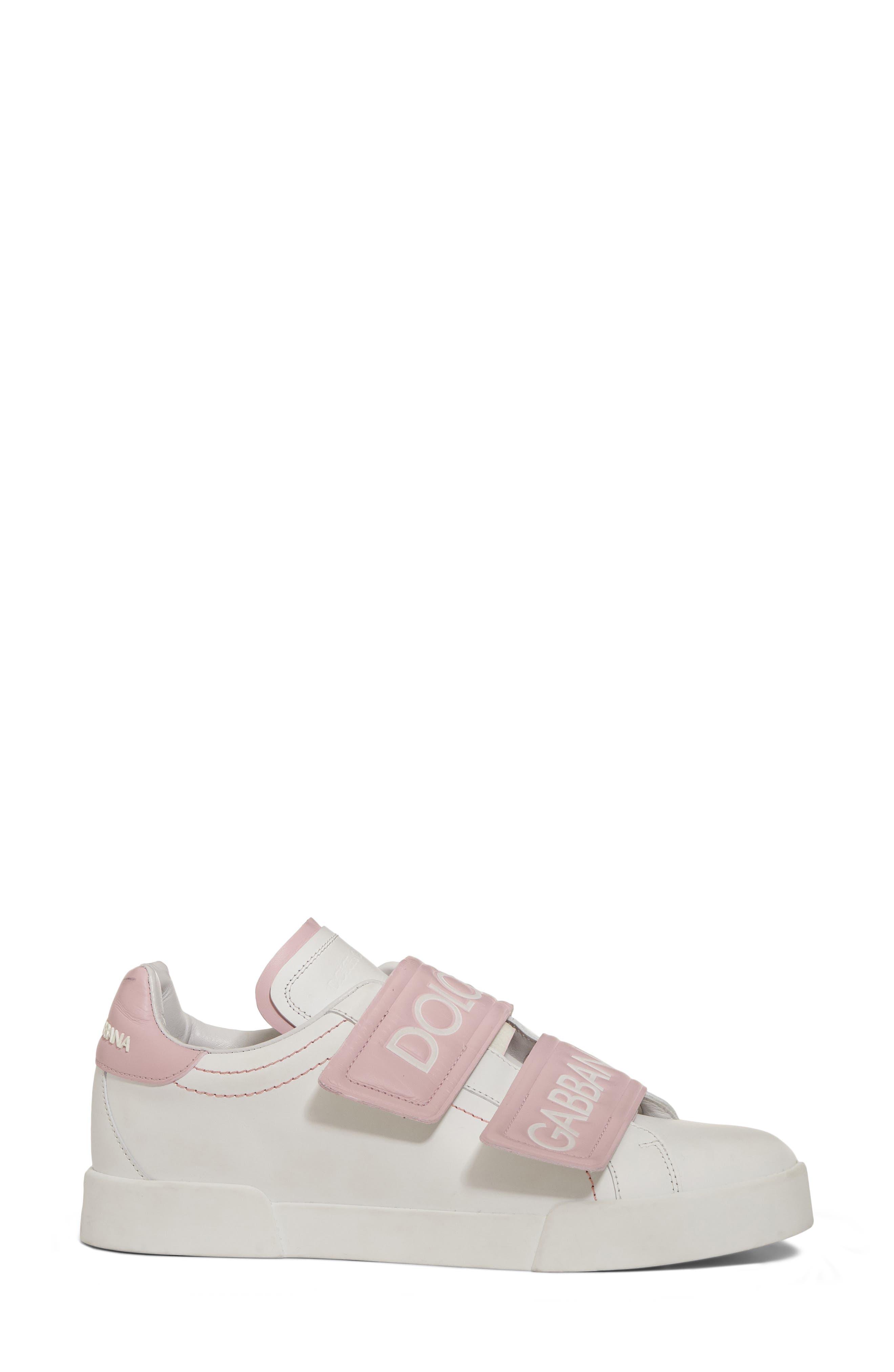 Alternate Image 3  - Dolce&Gabbana Logo Strap Sneaker (Women)