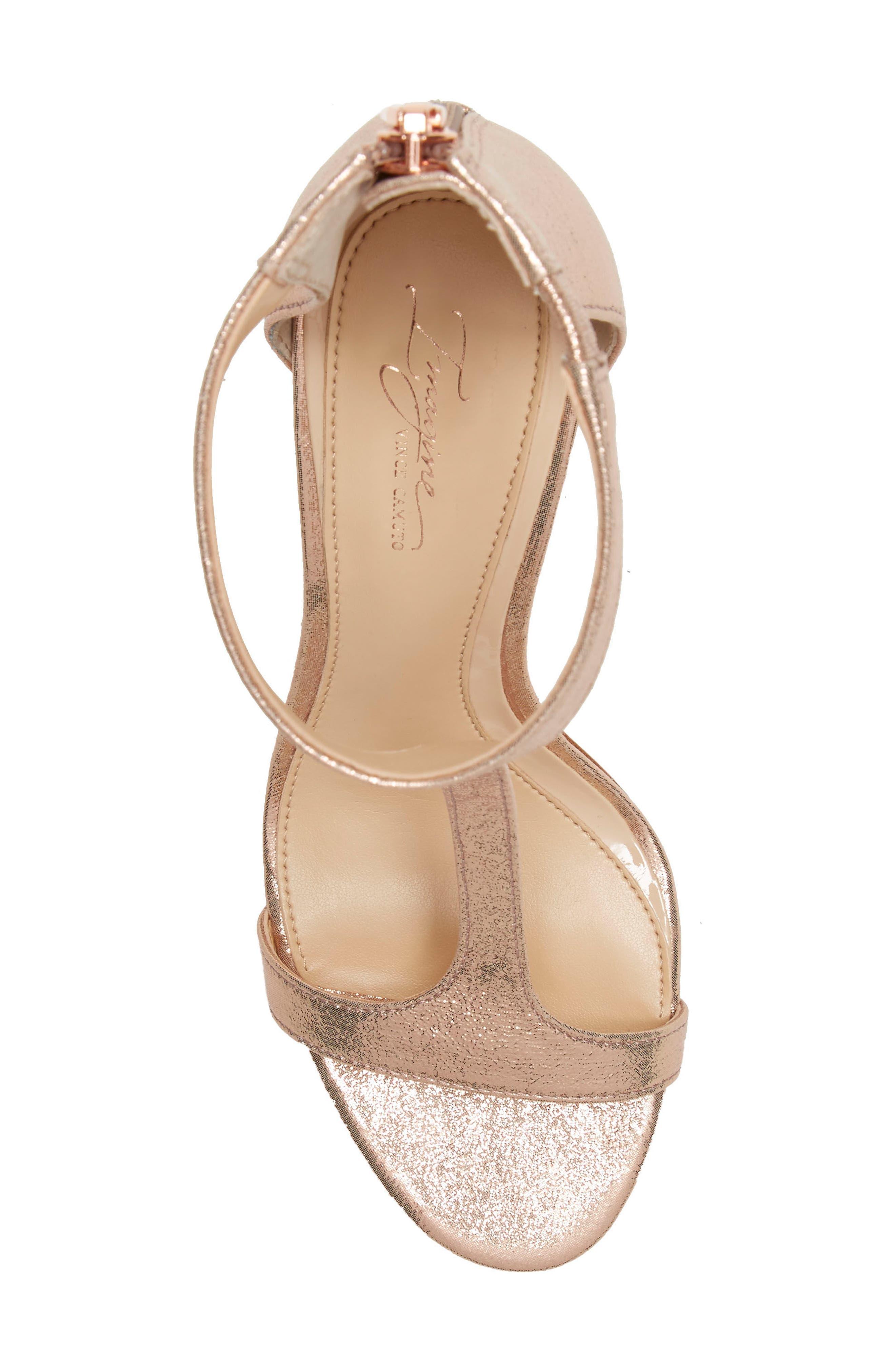 Alternate Image 5  - Imagine by Vince Camuto 'Phoebe' Embellished T-Strap Sandal (Women)